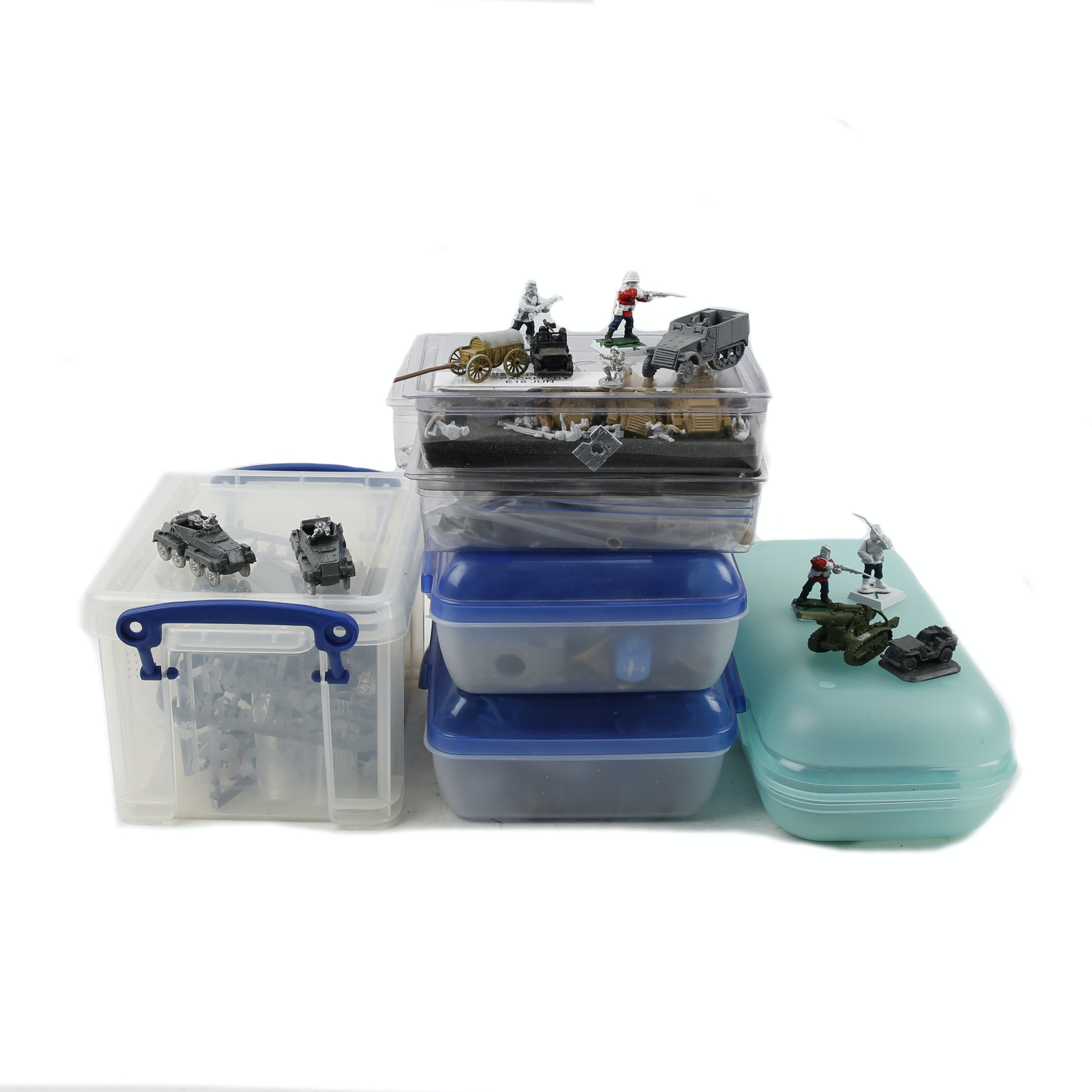 Military Miniature Soldiers and Vehicles