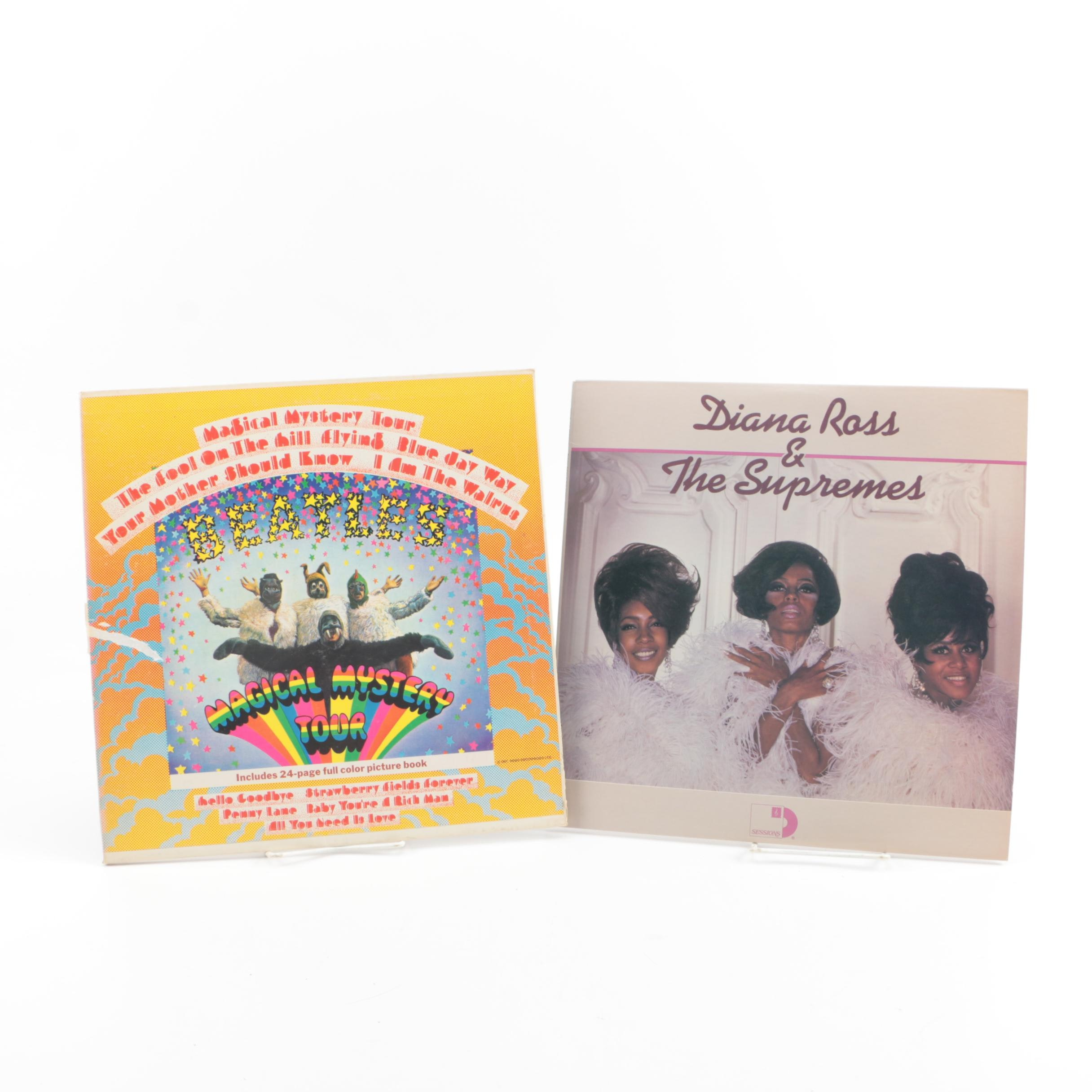 "The Beatles ""Magical Mystery Tour"" and Diana Ross & The Supremes Records"
