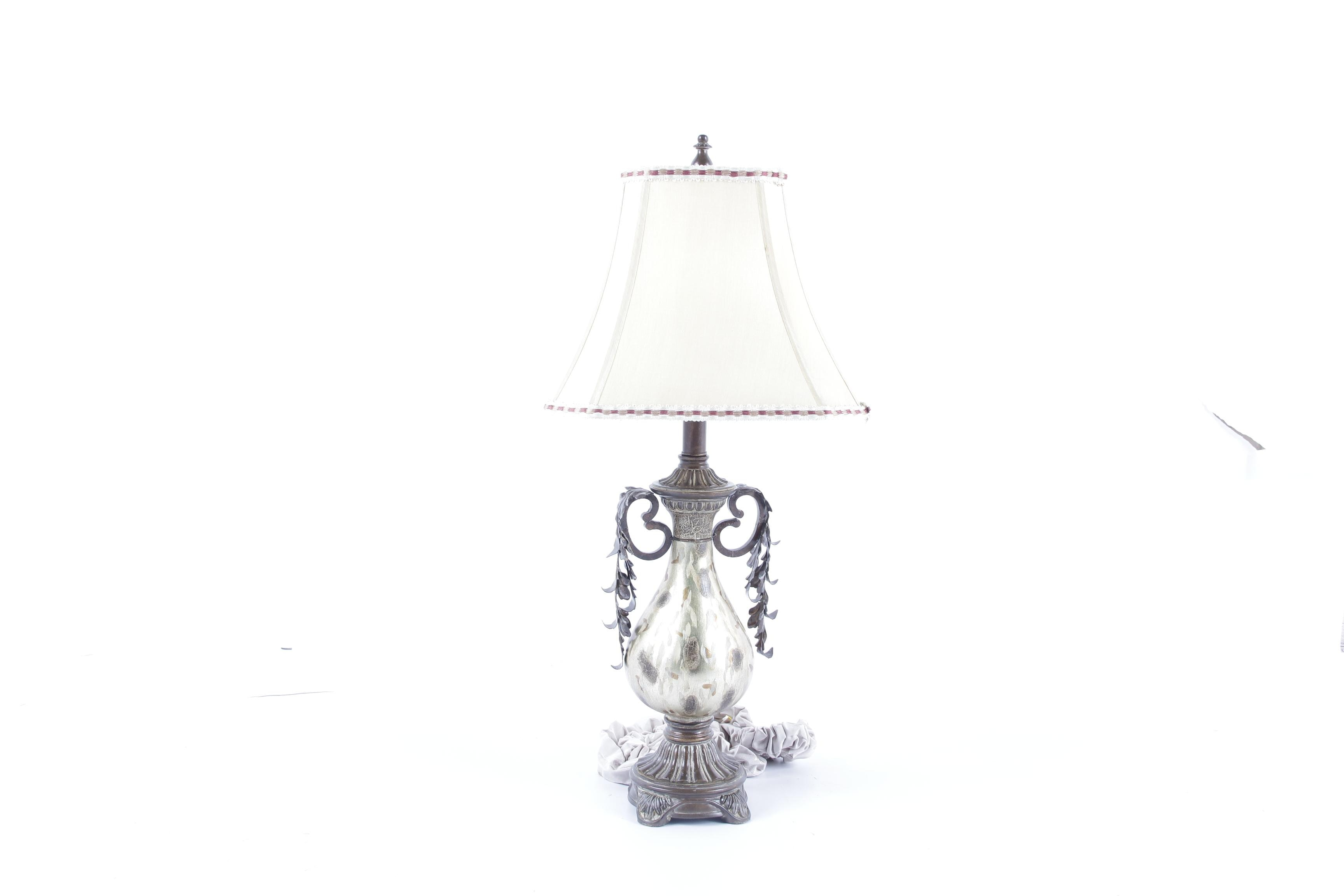 Neoclassical Style Metal Table Lamp