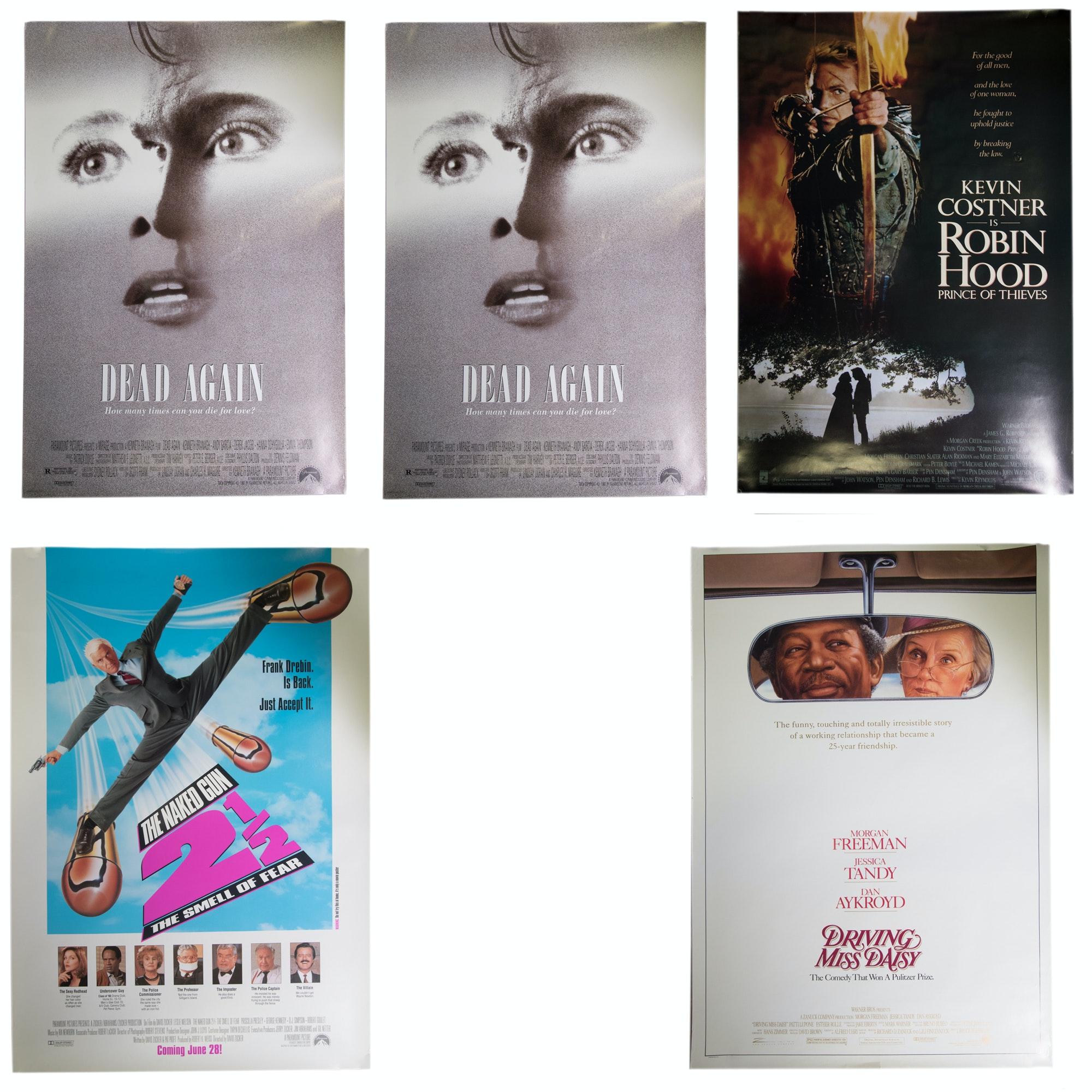 Assortment of Offset Lithograph Movie Posters