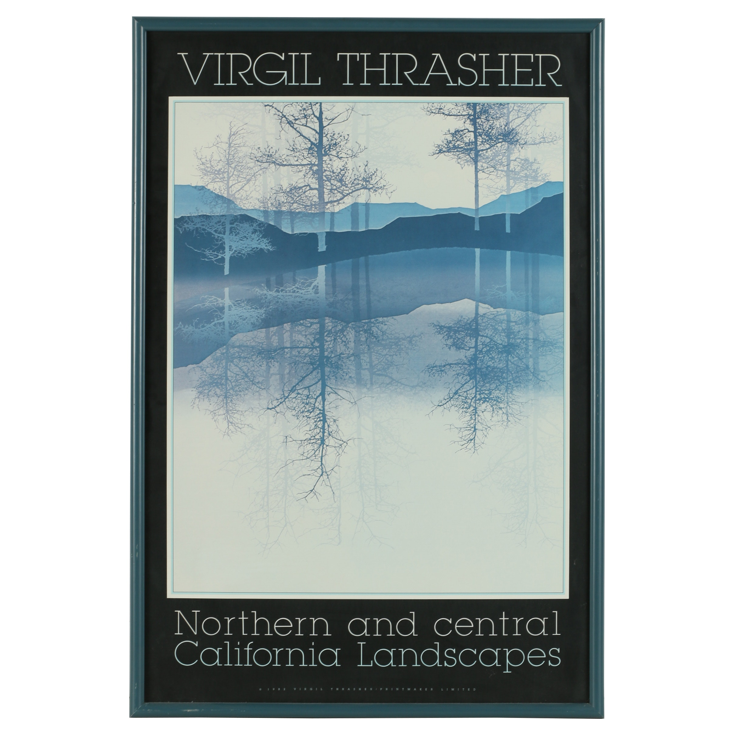 Offset Lithograph After Virgil Thrasher