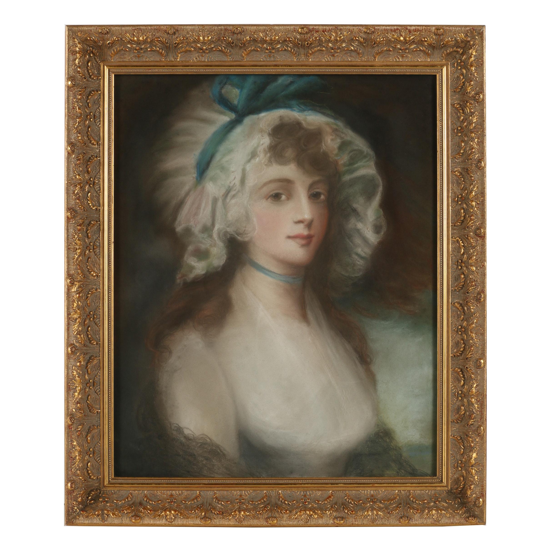 Georgian Style Pastel Portrait