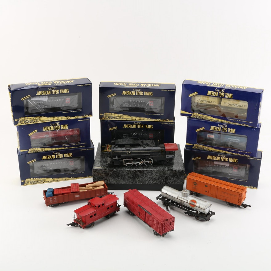 American Flyer and American Models S-Gauge Train Cars