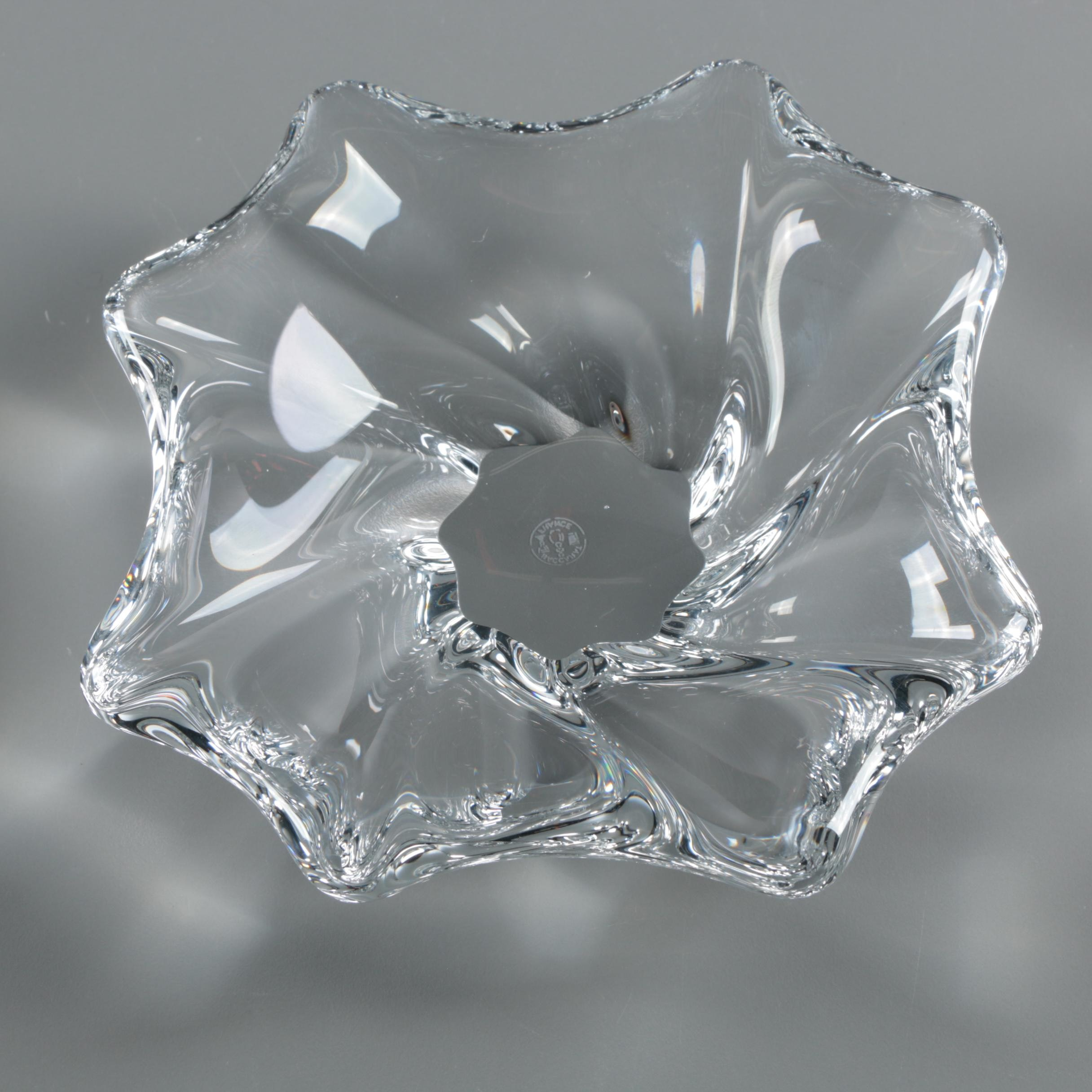 "Baccarat Crystal ""Oviedo"" Ash Receiver"