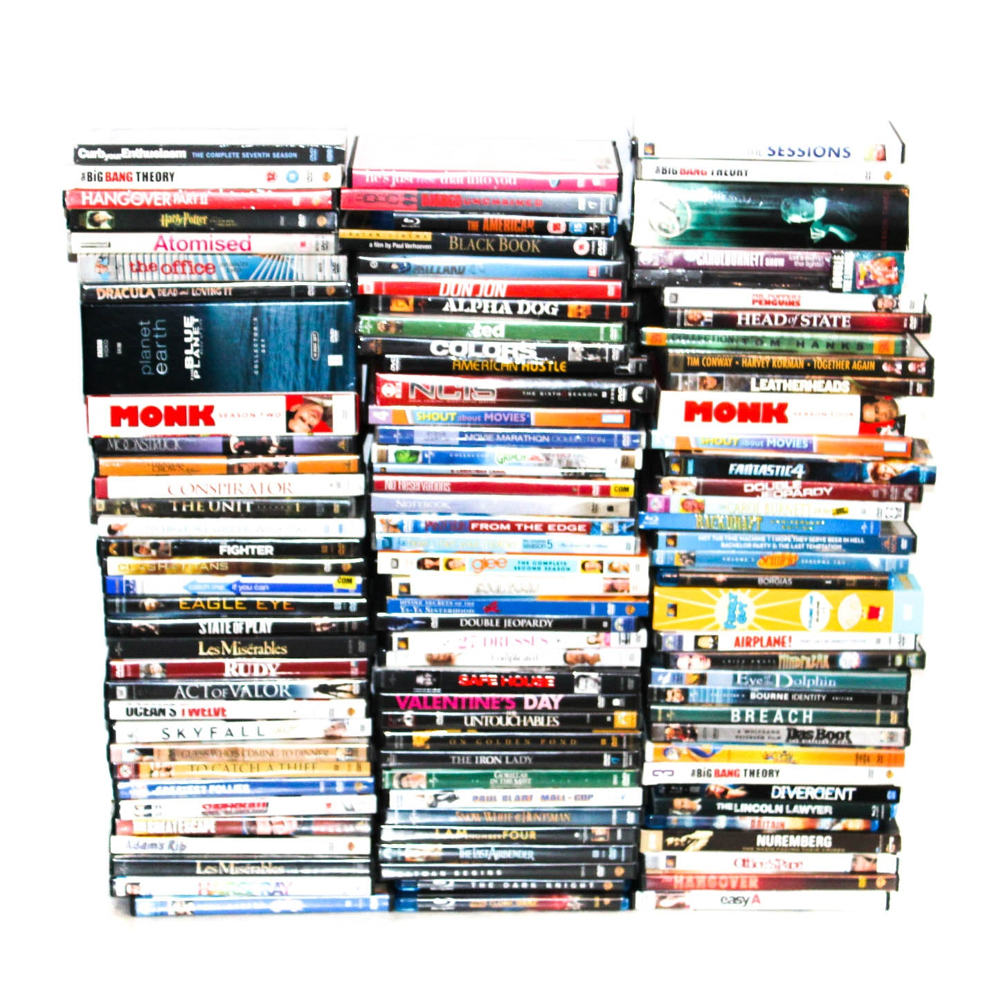Films on DVD and Blu-Ray