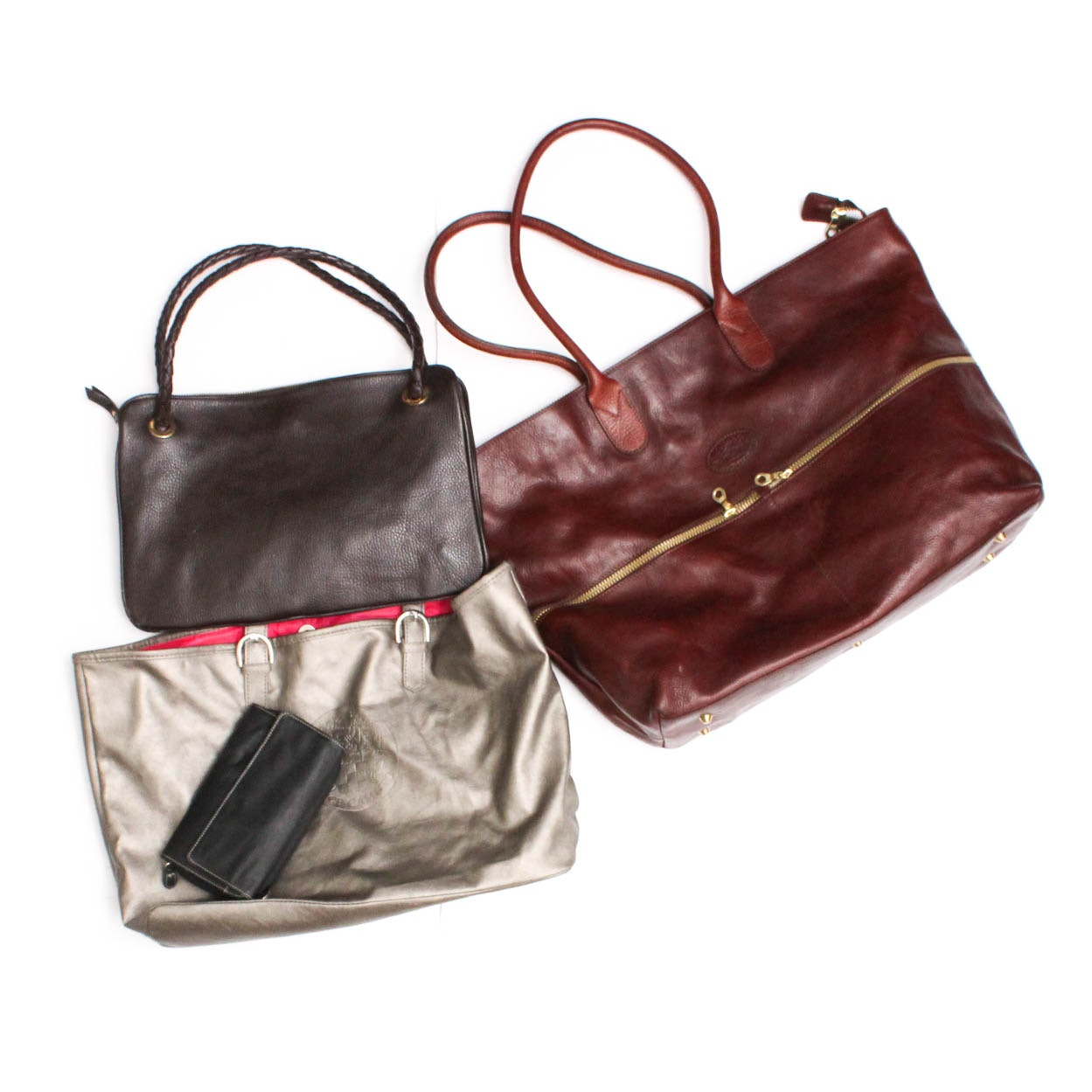 Tangora, Desmo and Vince Camuto Leather Handbag Collection and Wallet