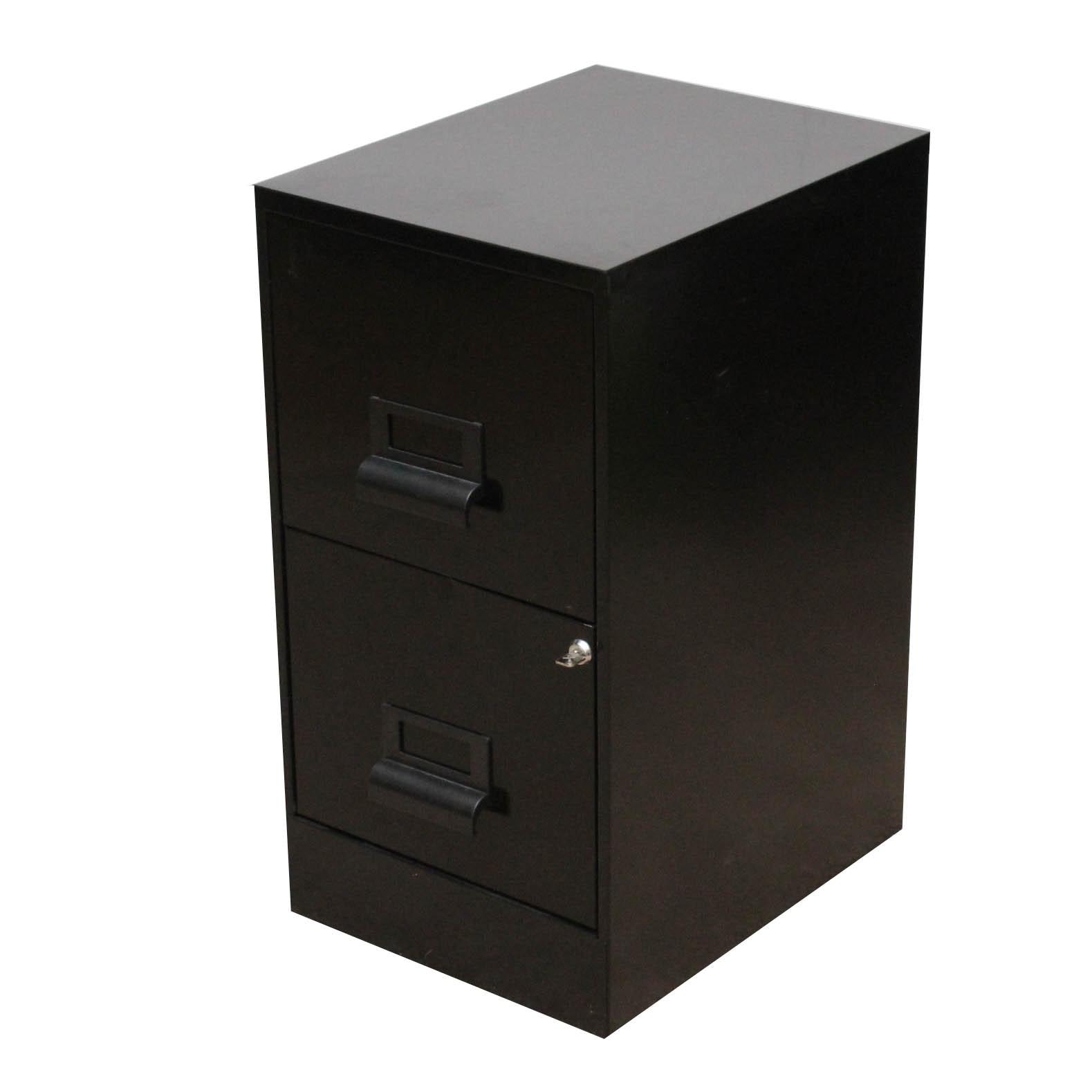 Two Drawer Metal Filing Cabinet ...