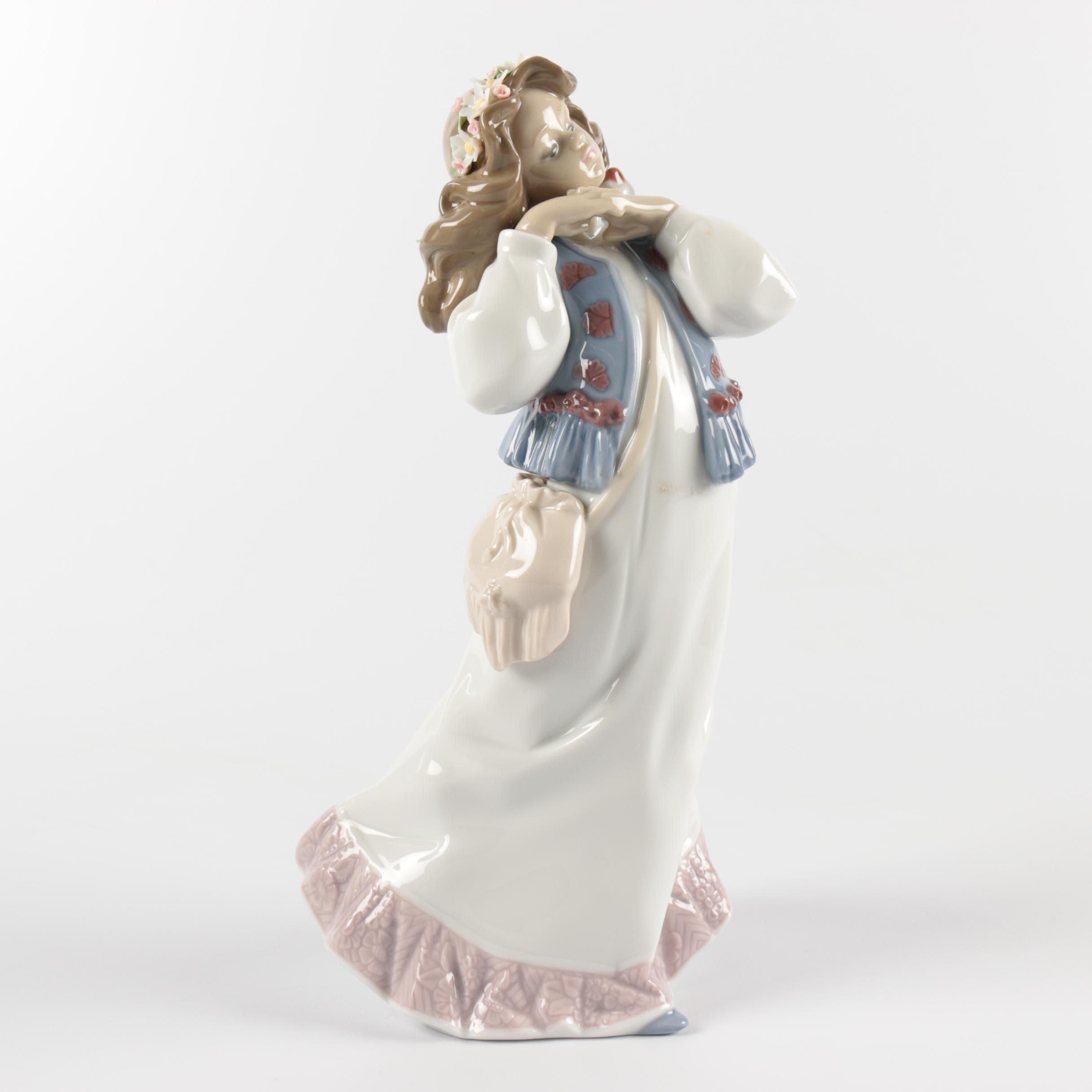 "Lladró ""Dreams of a Summer Past"" Porcelain Figurine"