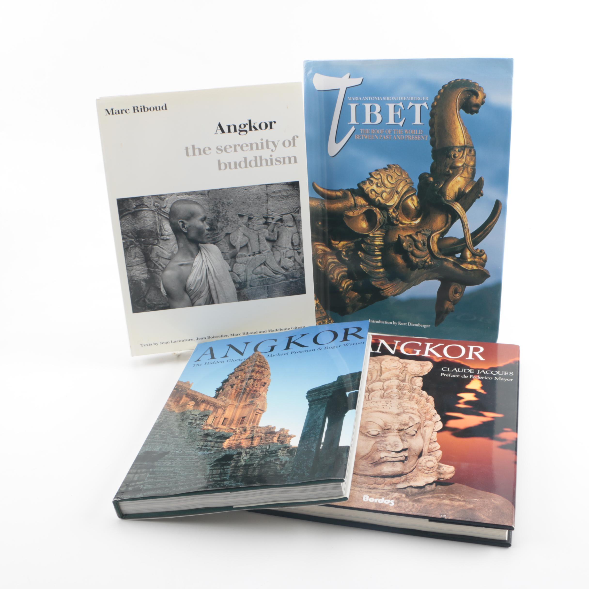 Angkor and Tibetan Art Books