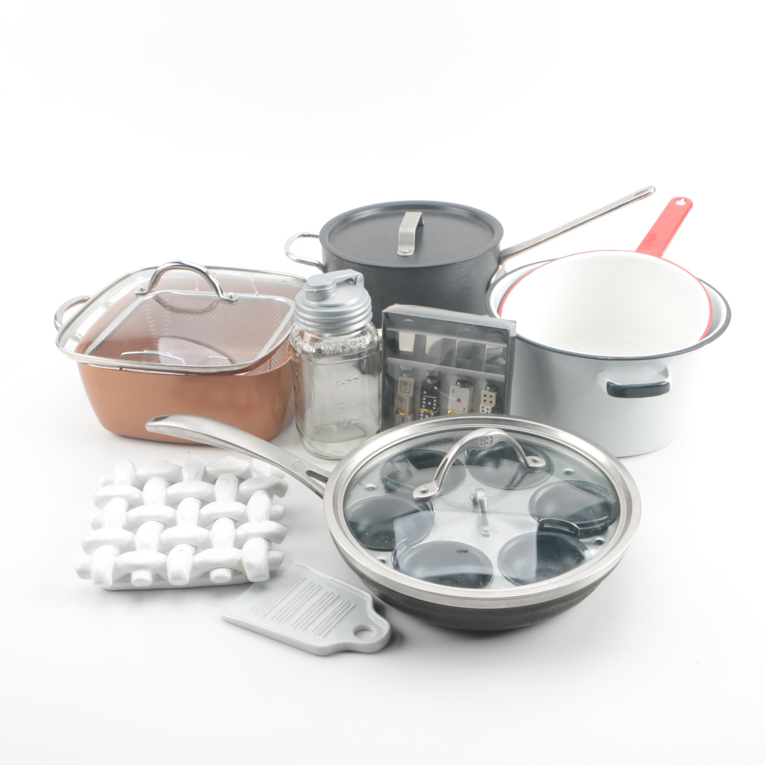 Cookware and Kitchen Utensils featuring Calphalon and NSF