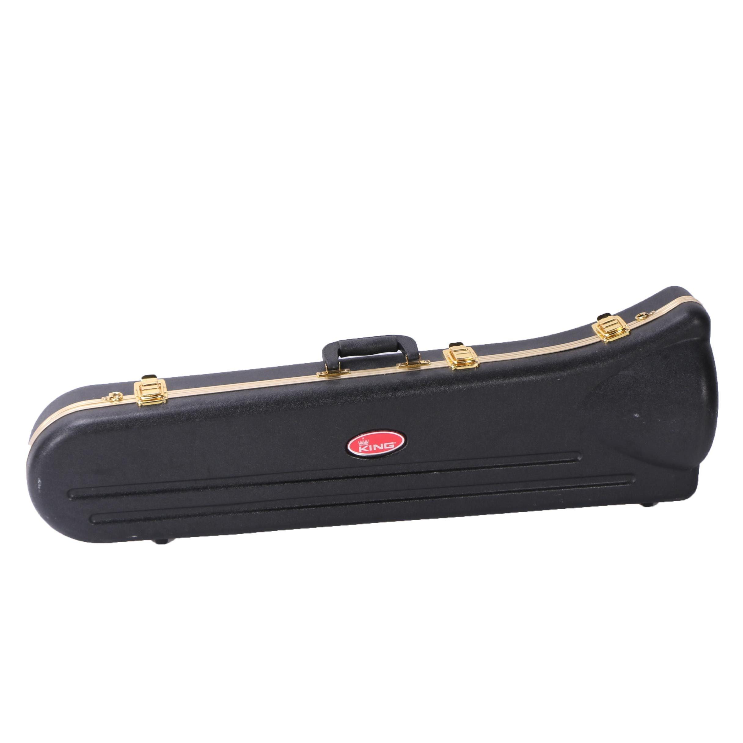 King Trombone with Hardshell Case