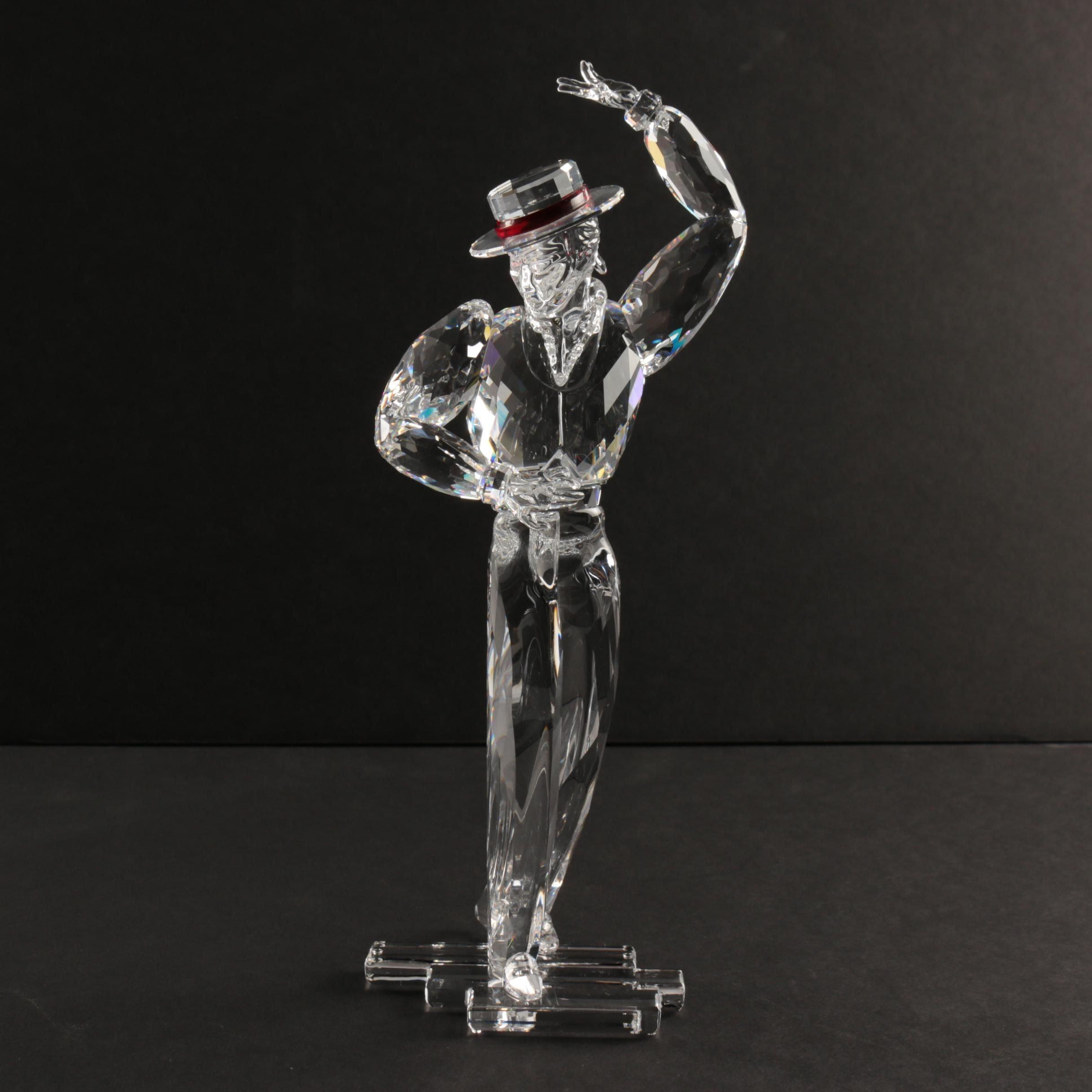 "Swarovski 2003 Crystal Figurine ""Antonio"" from ""Magic of Dance"" Series"