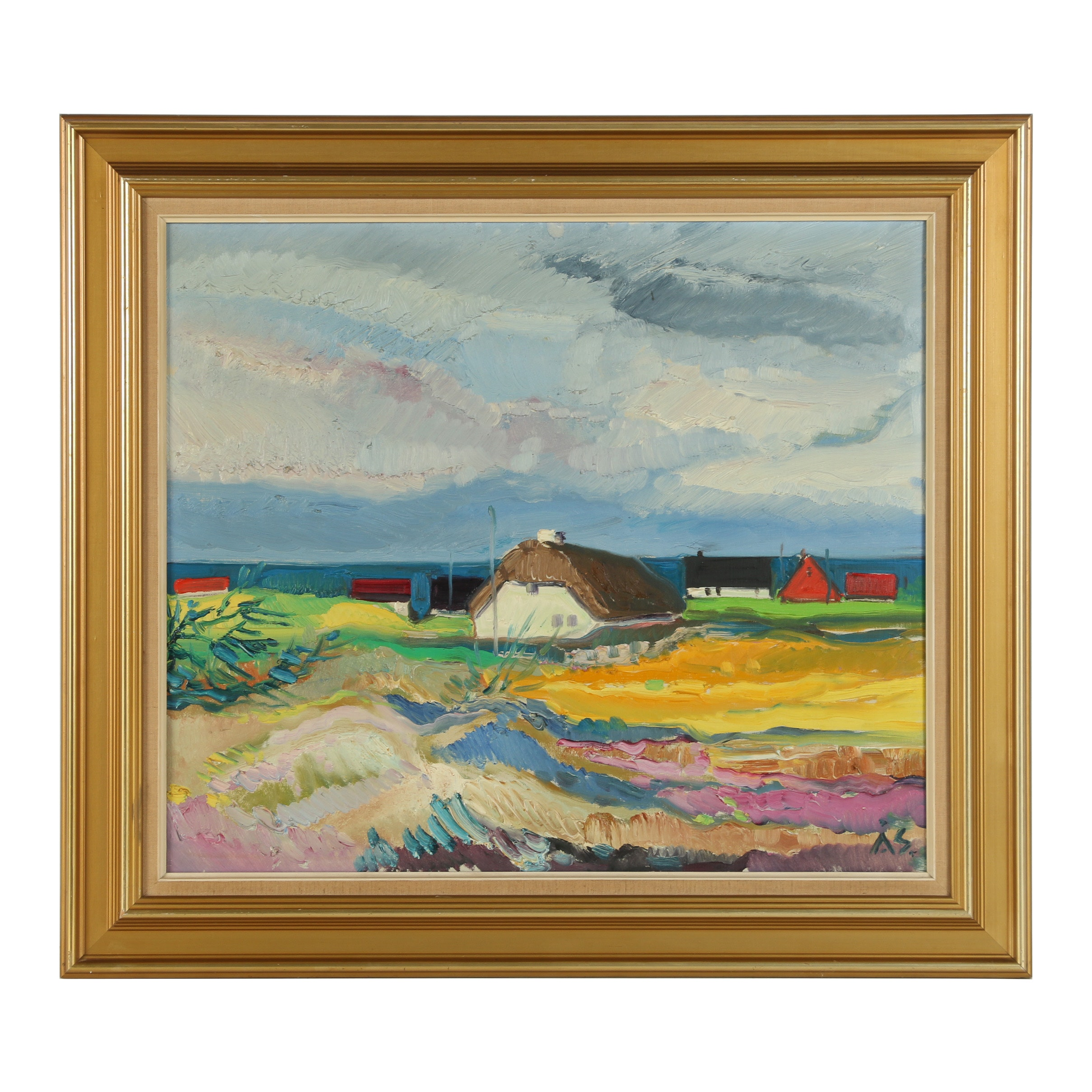 Aage Strand Oil Painting