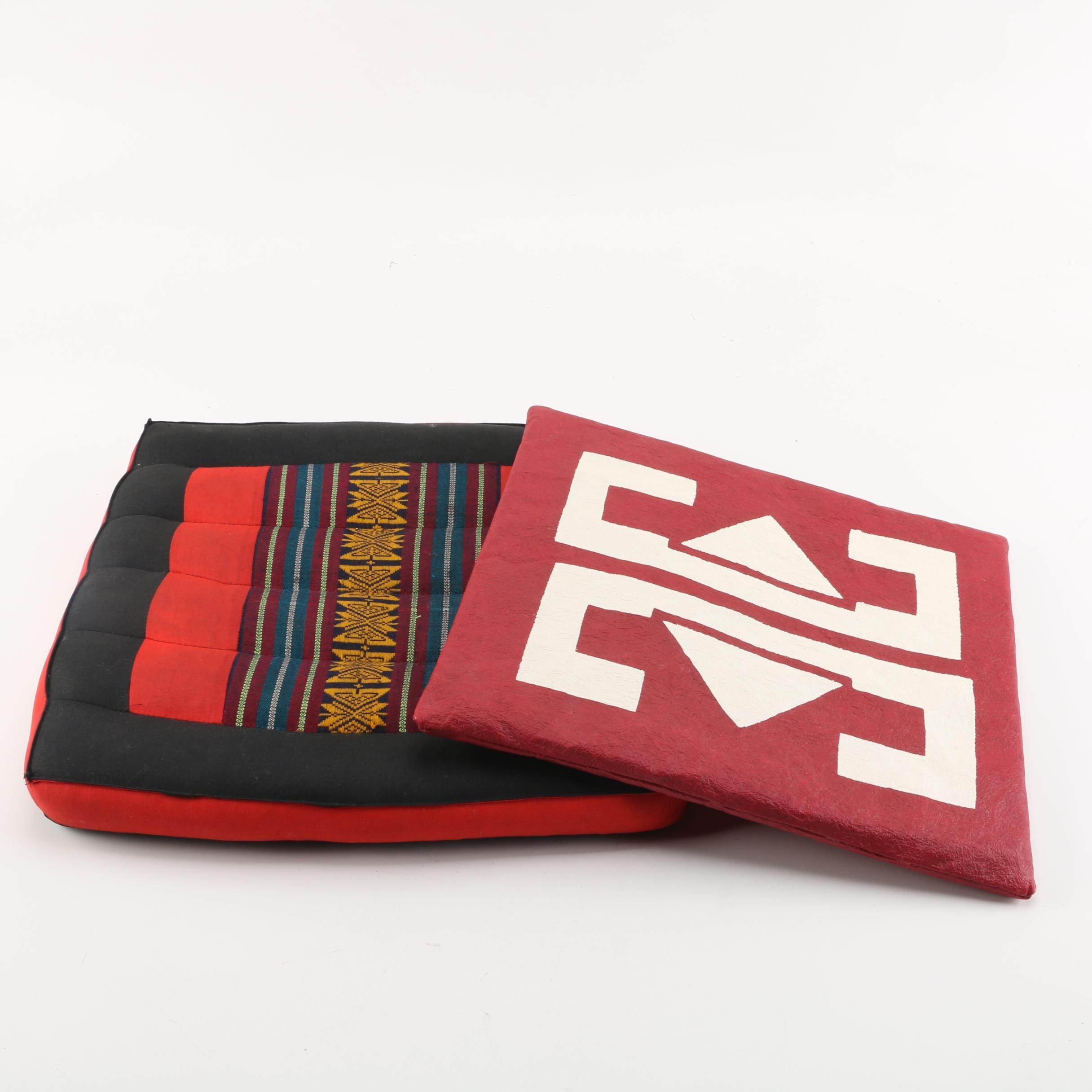 Zabuton-Style Floor Cushions