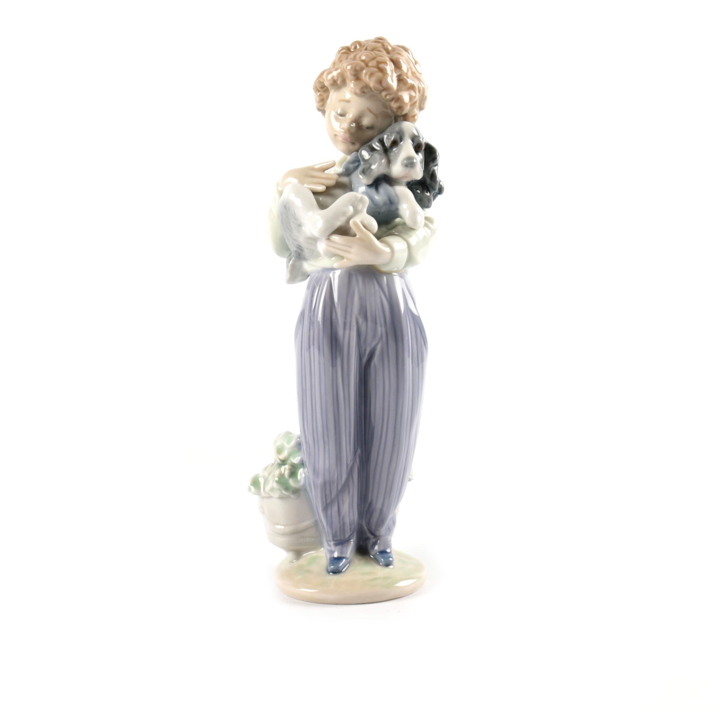 "Lladró ""My Buddy"" Porcelain Figurine"