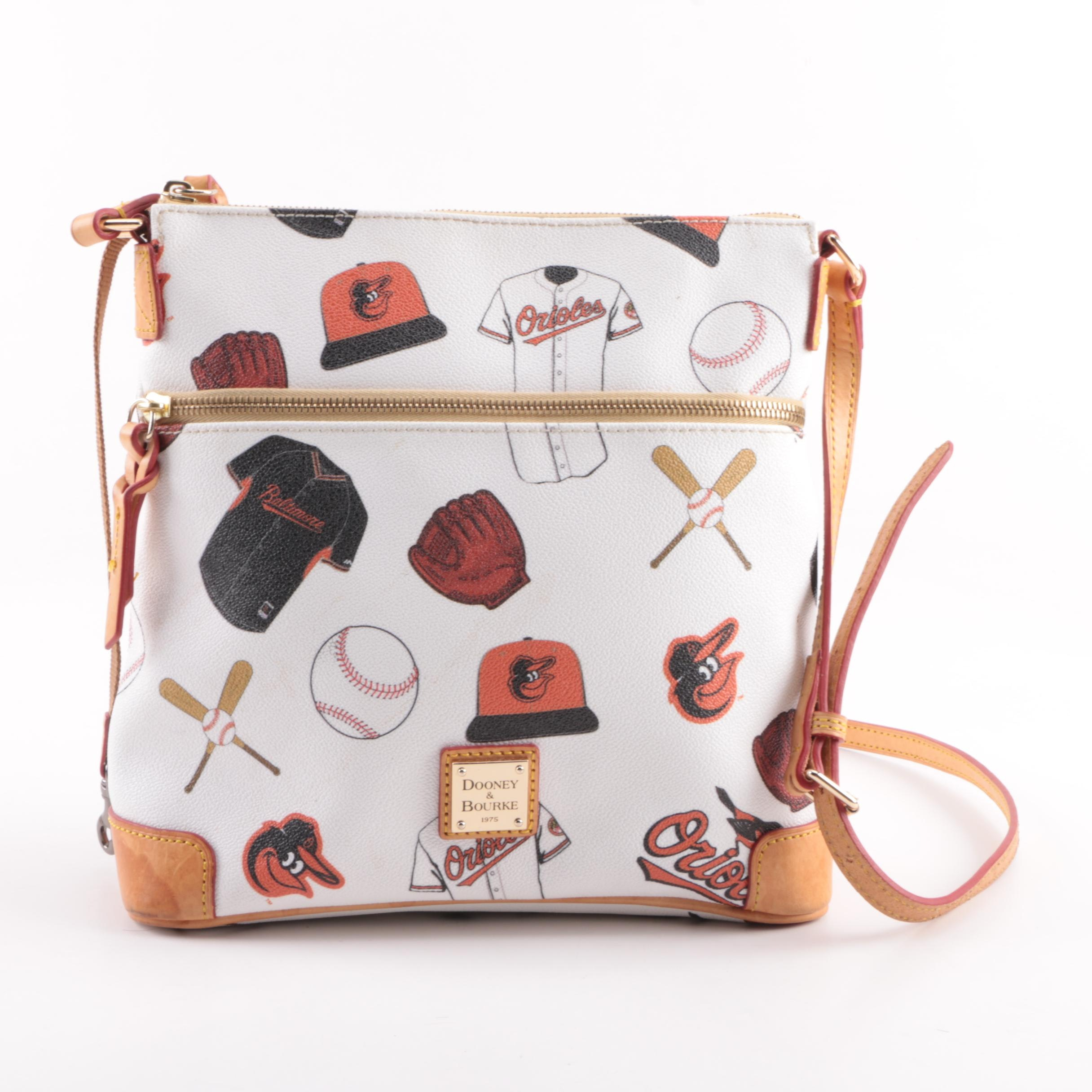 Dooney & Bourke Baltimore Orioles Coated Canvas Crossbody Bag
