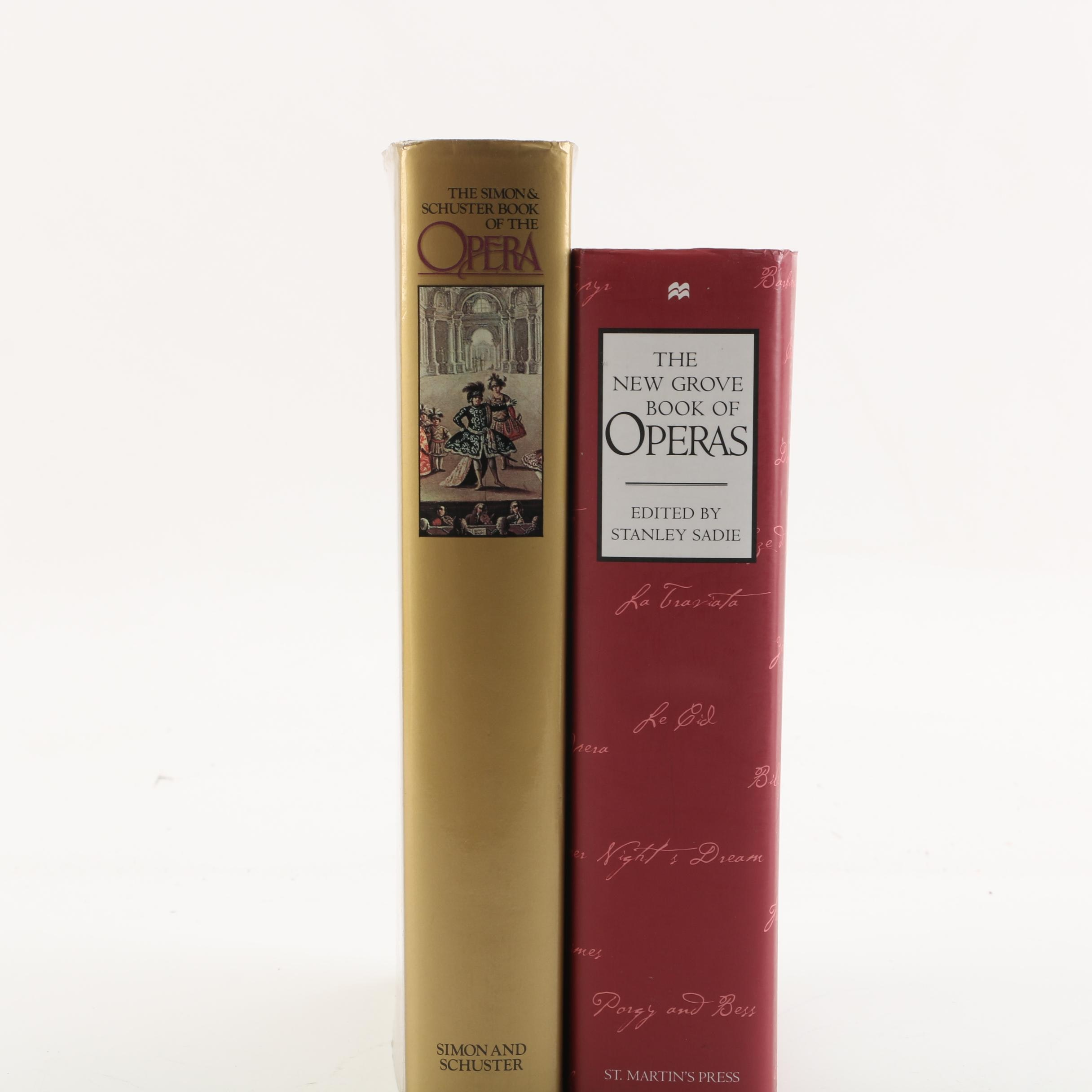 """1978 """"The Simon & Scuster Book of the Opera"""" Signed by Ardis Krainik and More"""