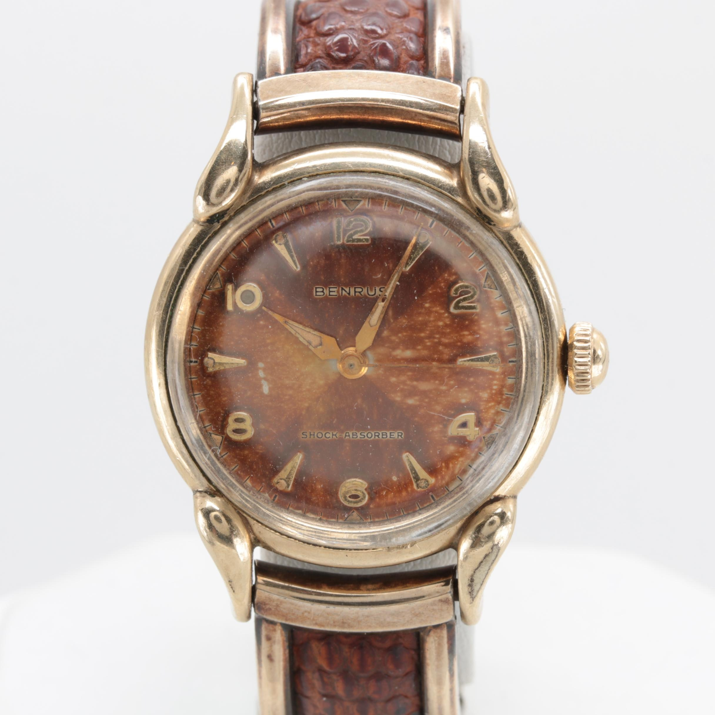 Benrus Gold Plated Wristwatch