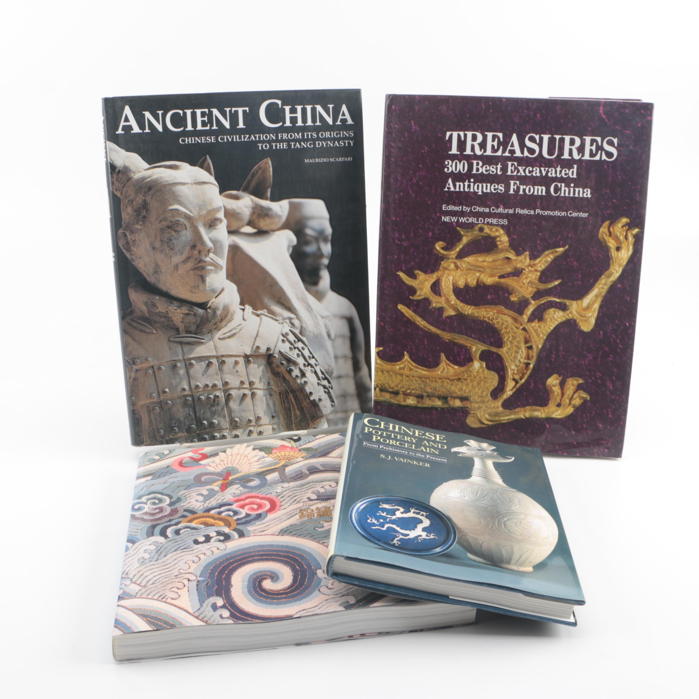 Chinese Art and History Books