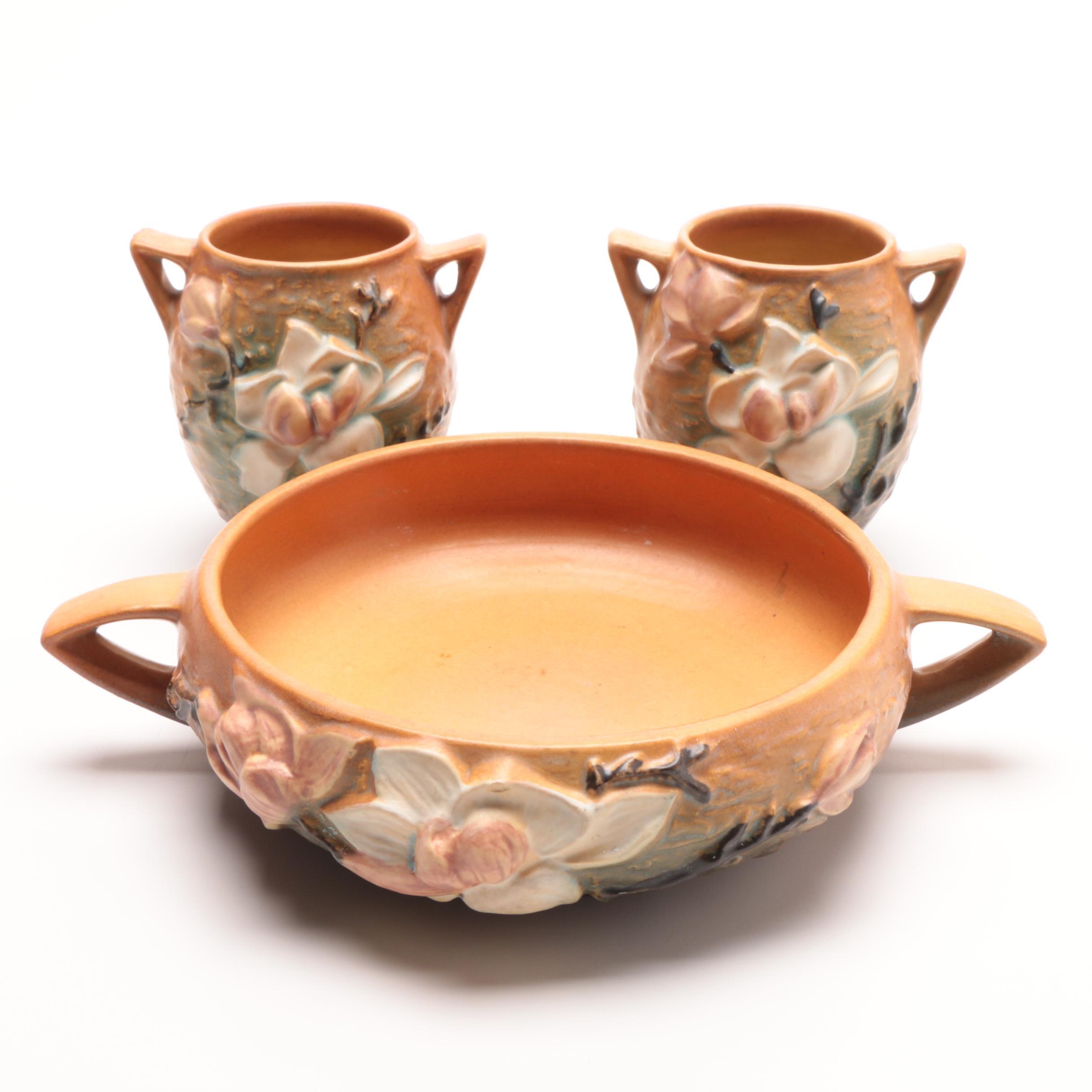 """Roseville """"Magnolia"""" Art Pottery"""