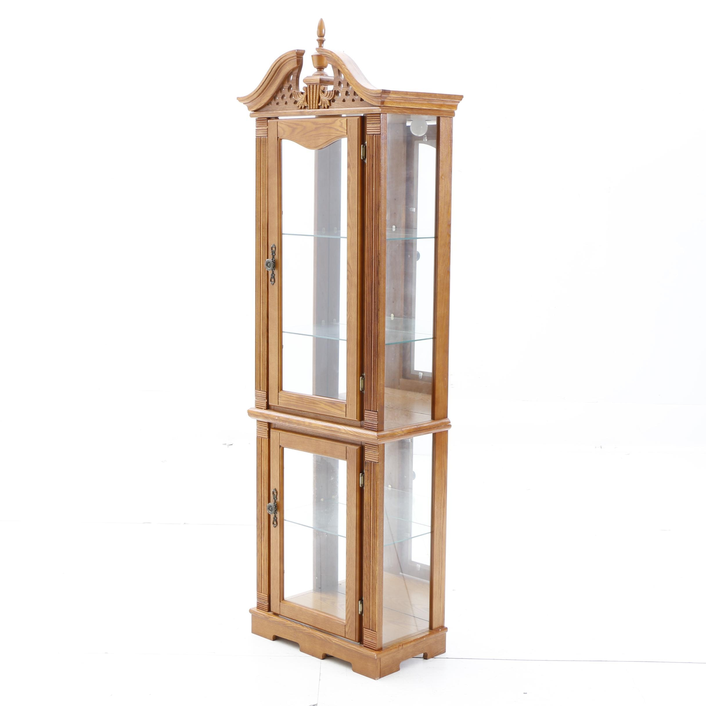 Federal Style Curio Cabinet