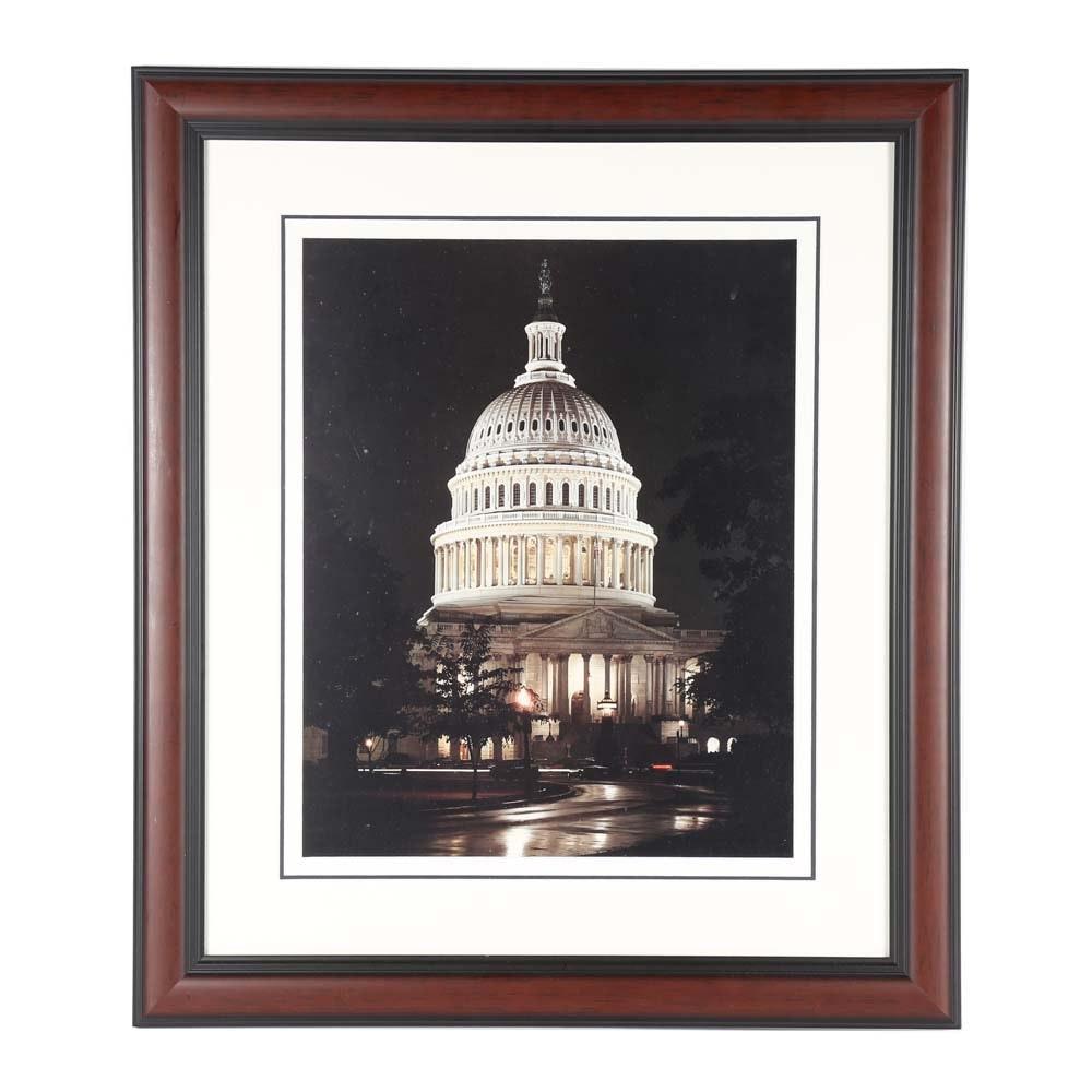 US Capitol Building Photograph