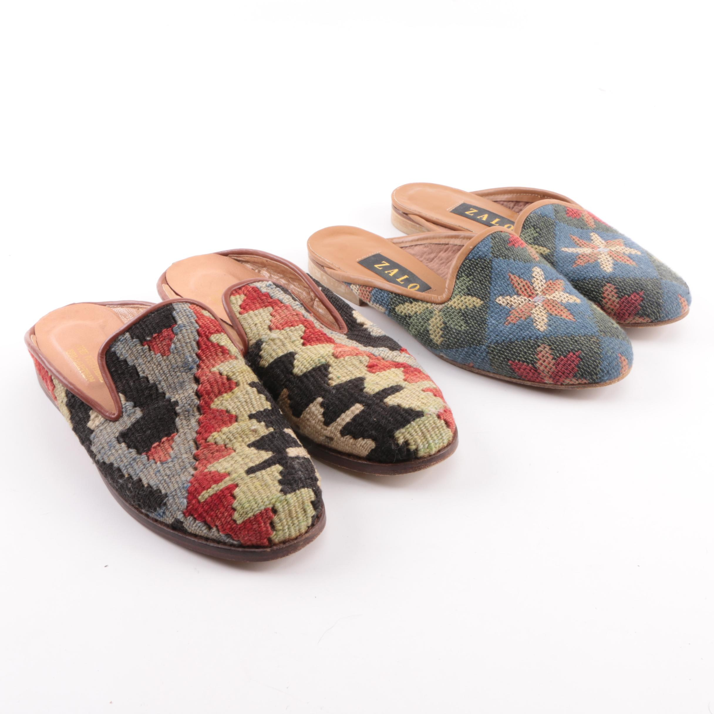 Women's Tapestry Mules Including Zalo