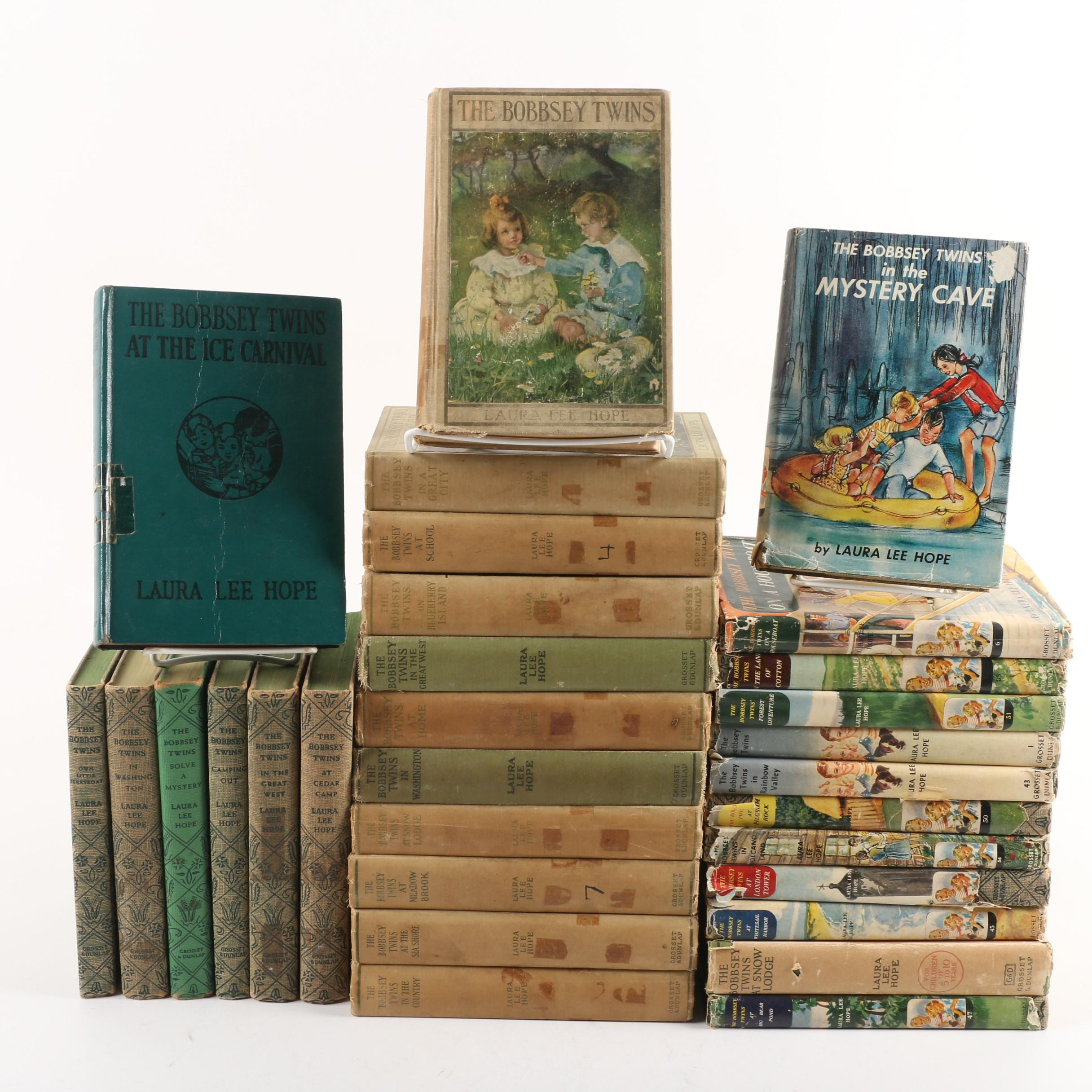 """Early to Mid Century """"The Bobbsey Twins"""" Books by Laura Lee Hope"""