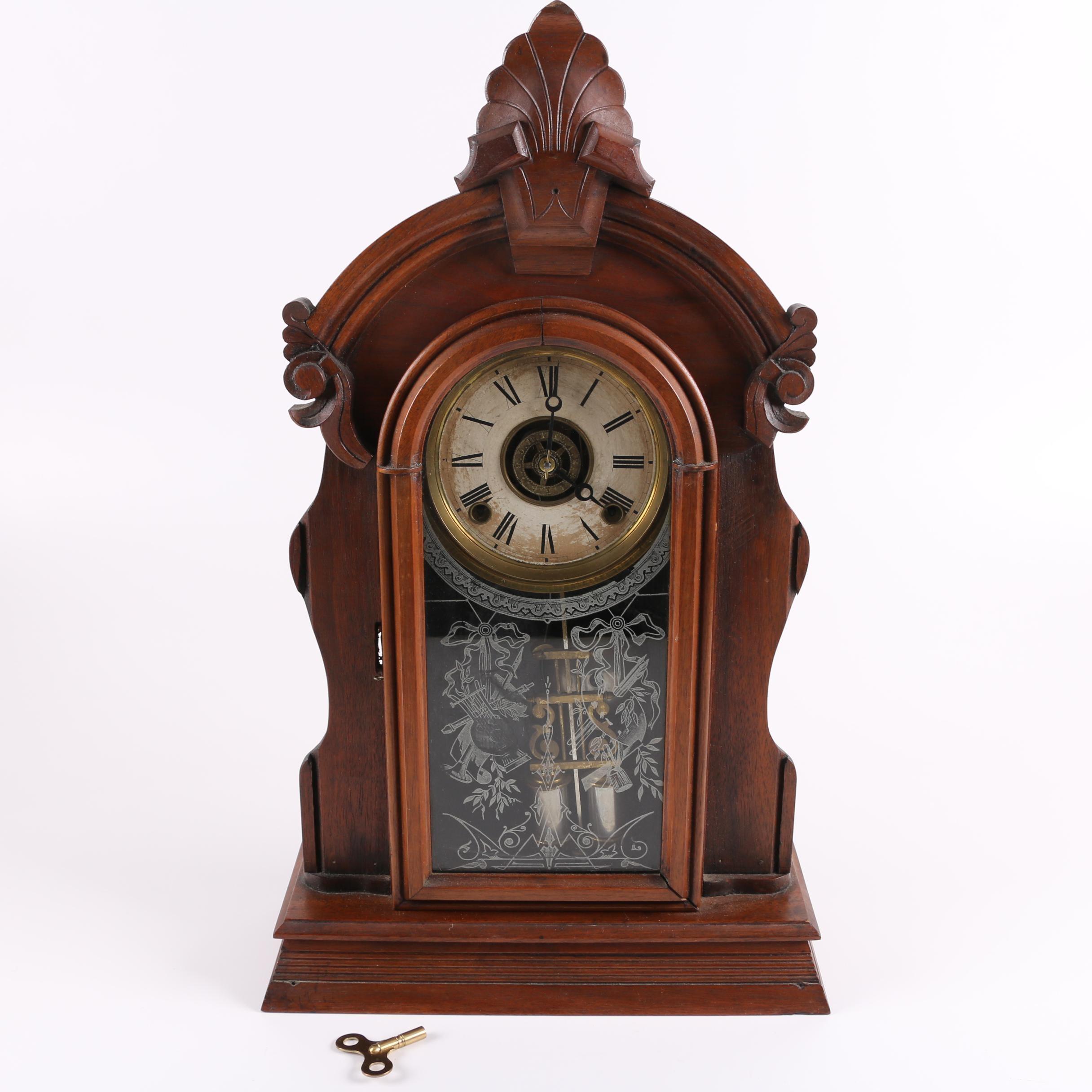 Ansonia Victorian Pendulum Parlor Clock