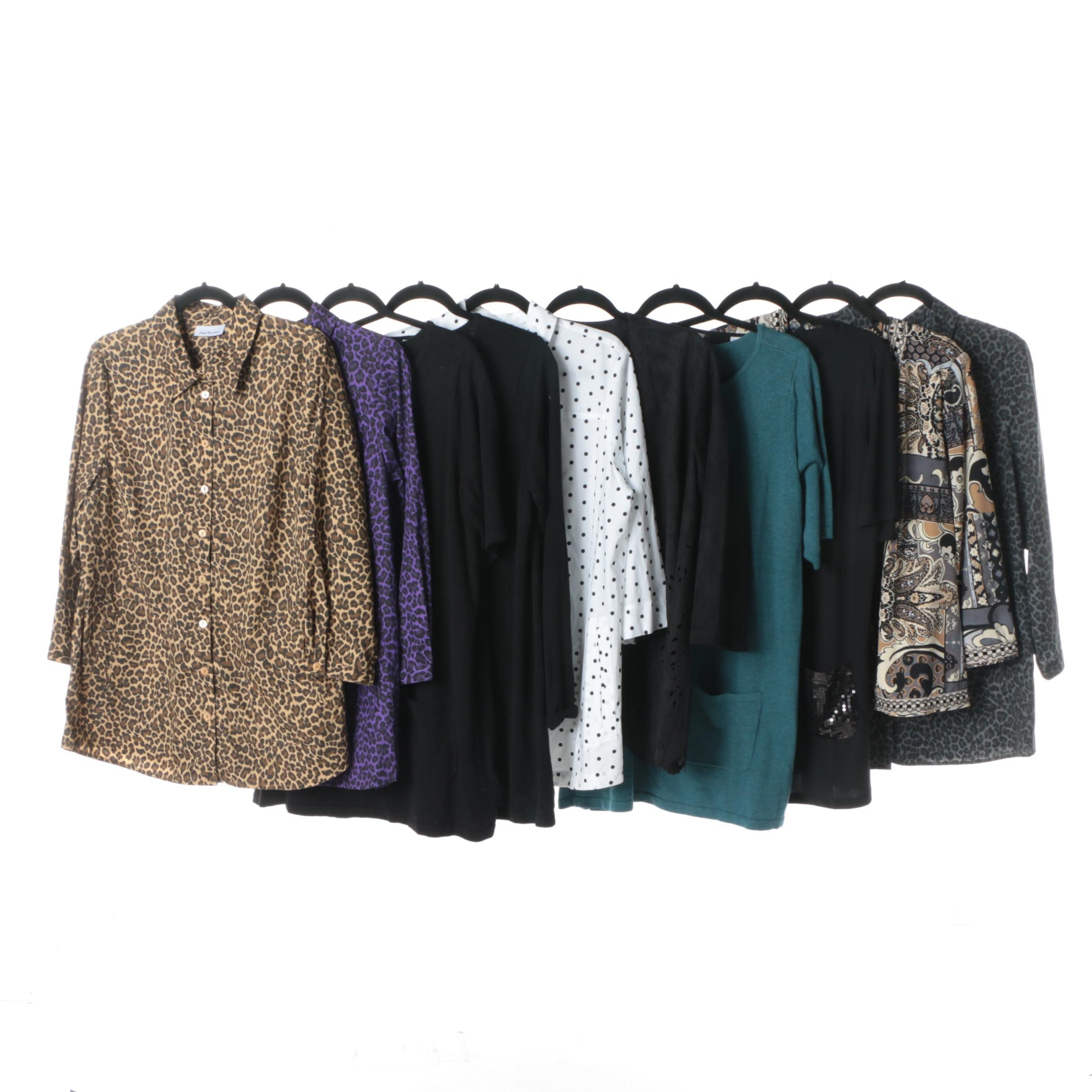 Women's Joan Rivers Tops, Tunics and Jacket