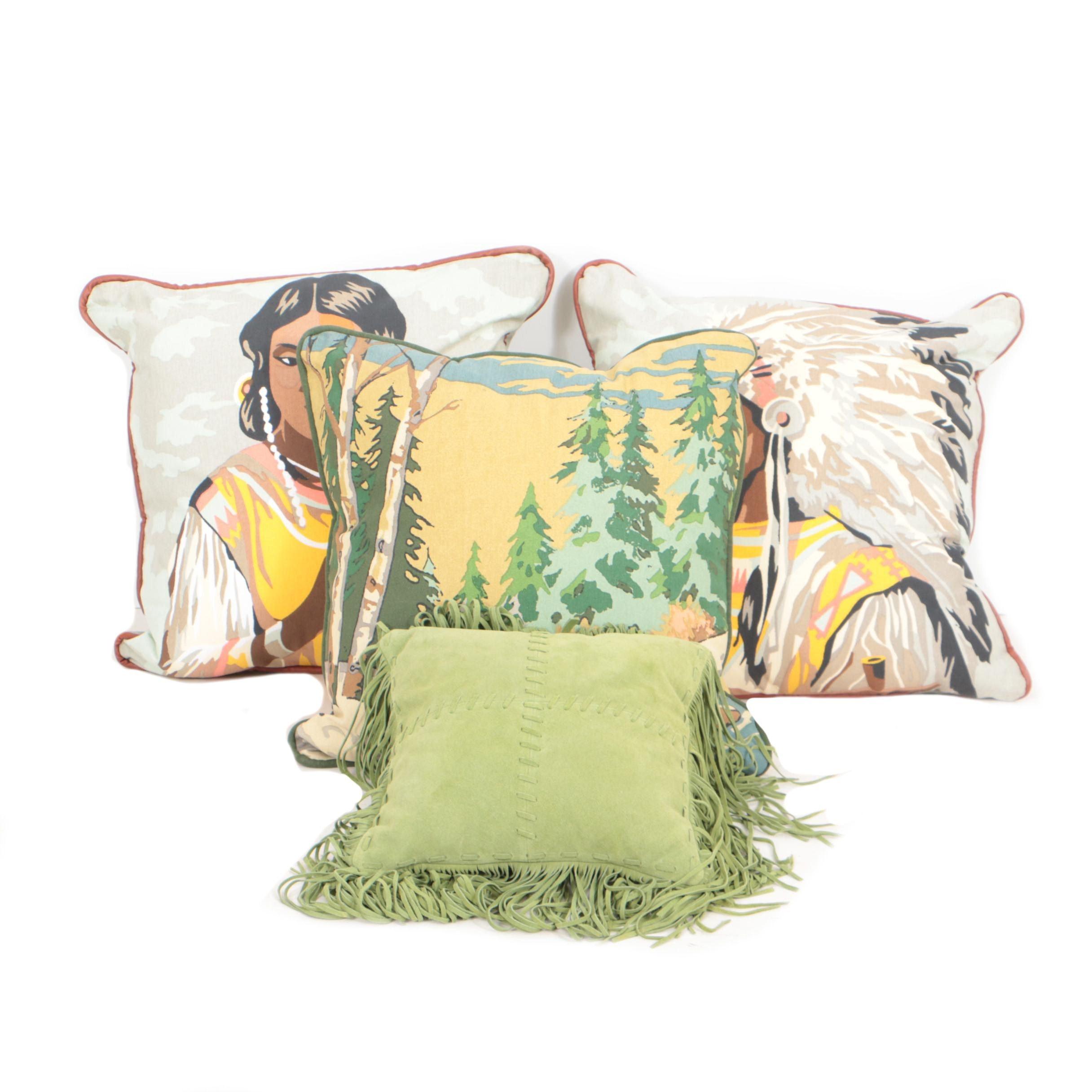 Chandler 4 Corners and Tasha Polizzi Throw Pillows