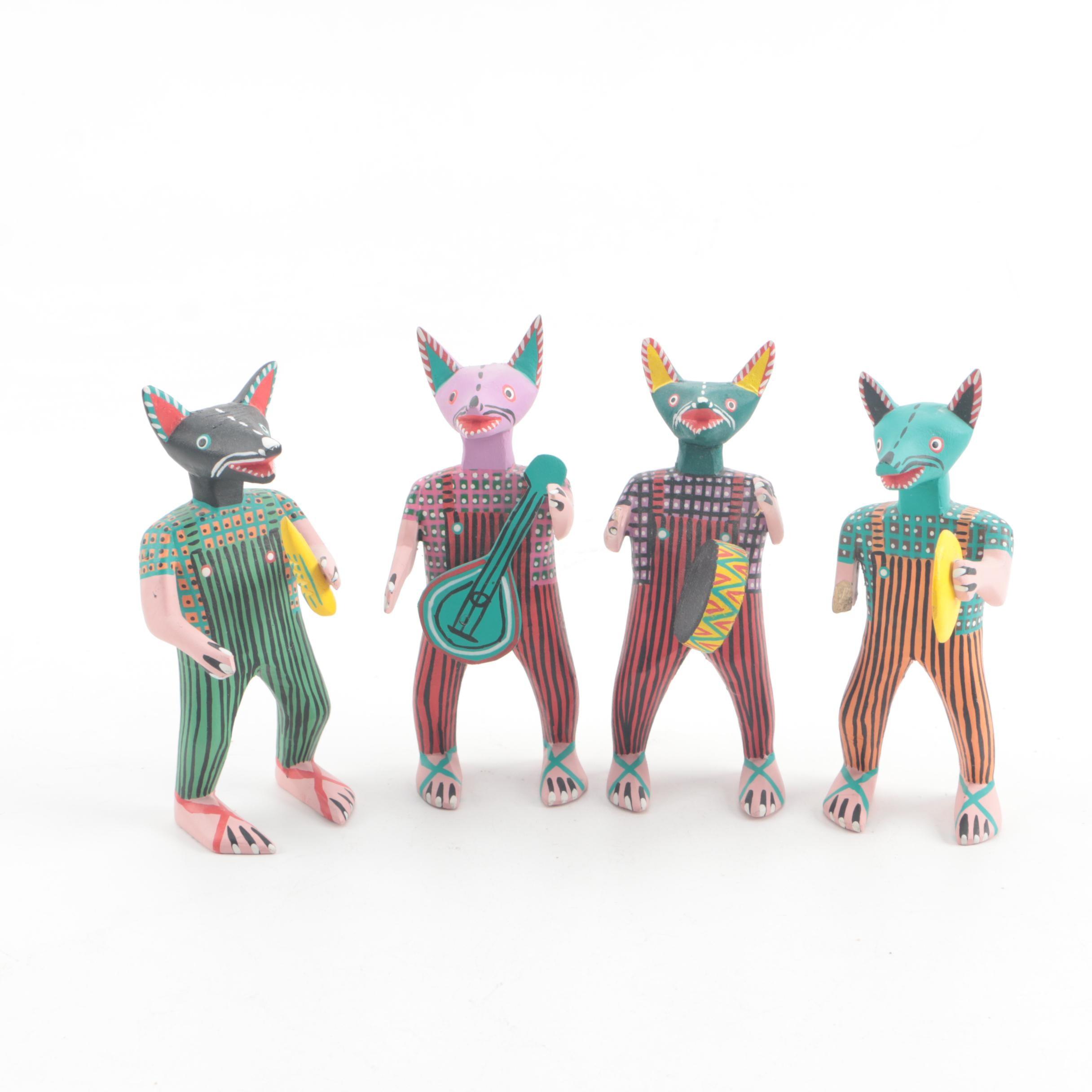 Abad Xuana Oaxacan Folk Art Carved Figures