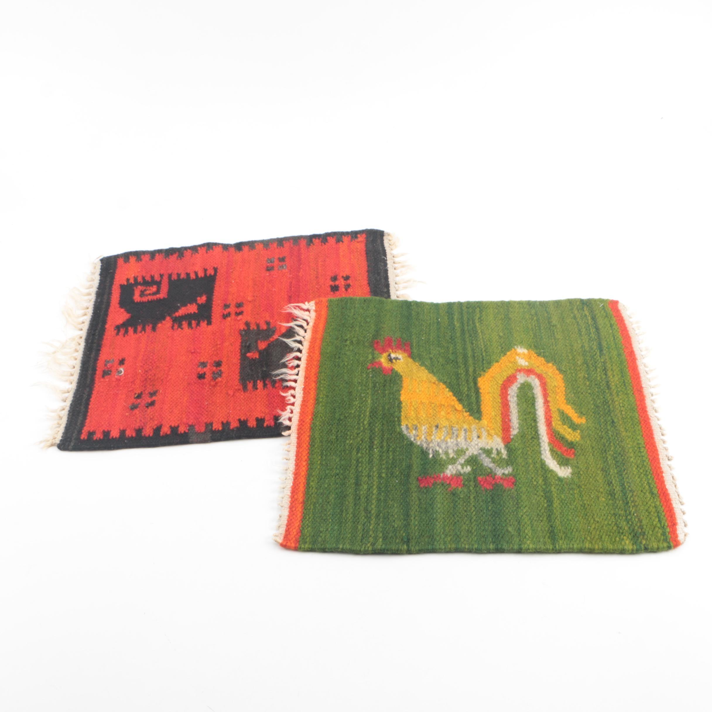 Woven Wool Folk Art Textiles