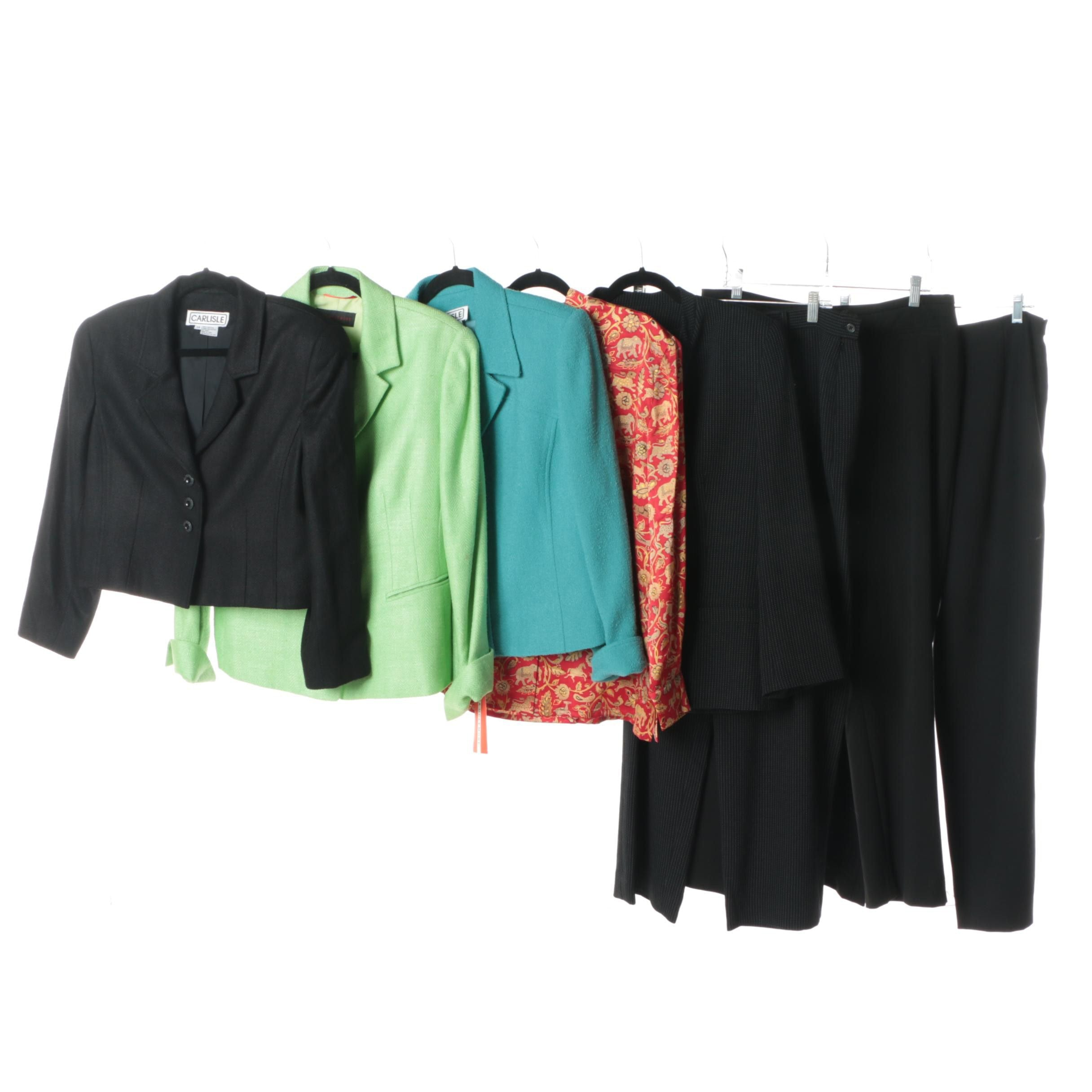 Women's Carlisle and Nina McLemore Pantsuits, Blazers and Blouse