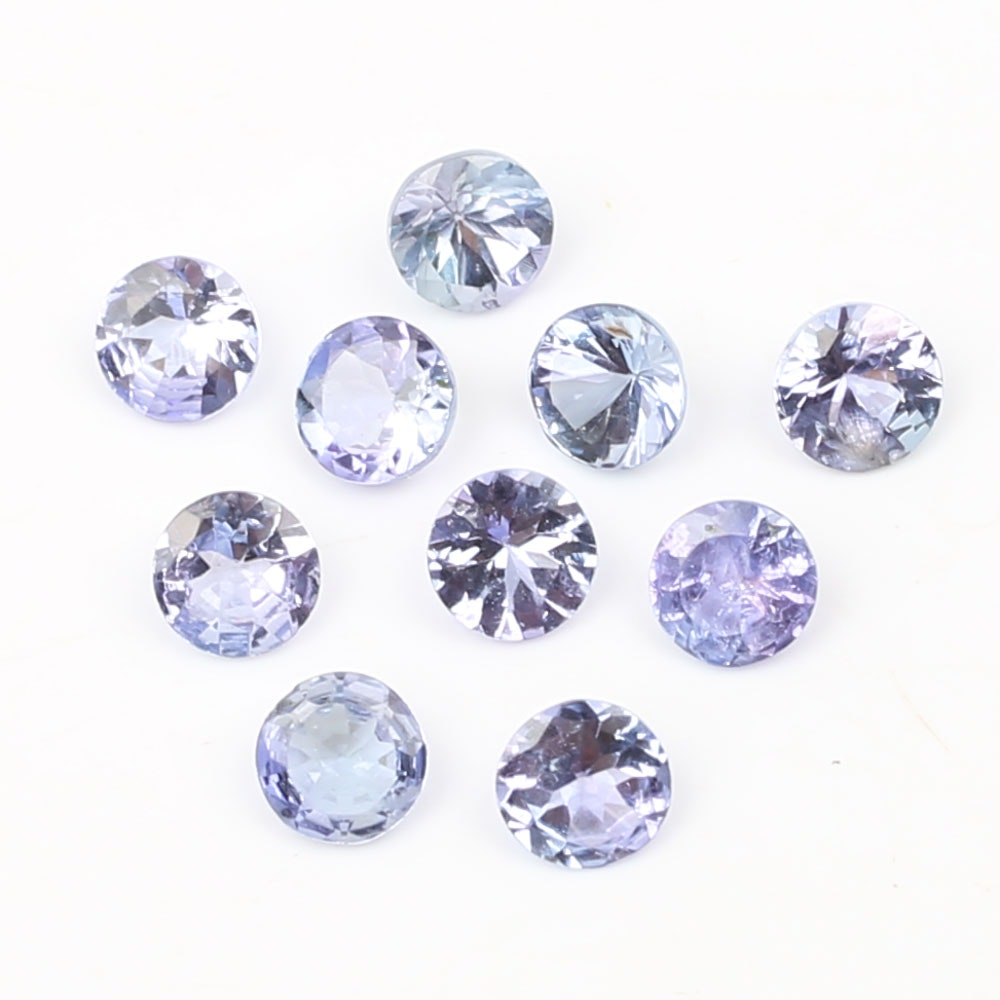 Loose 2.50 CTW Tanzanite Gemstones