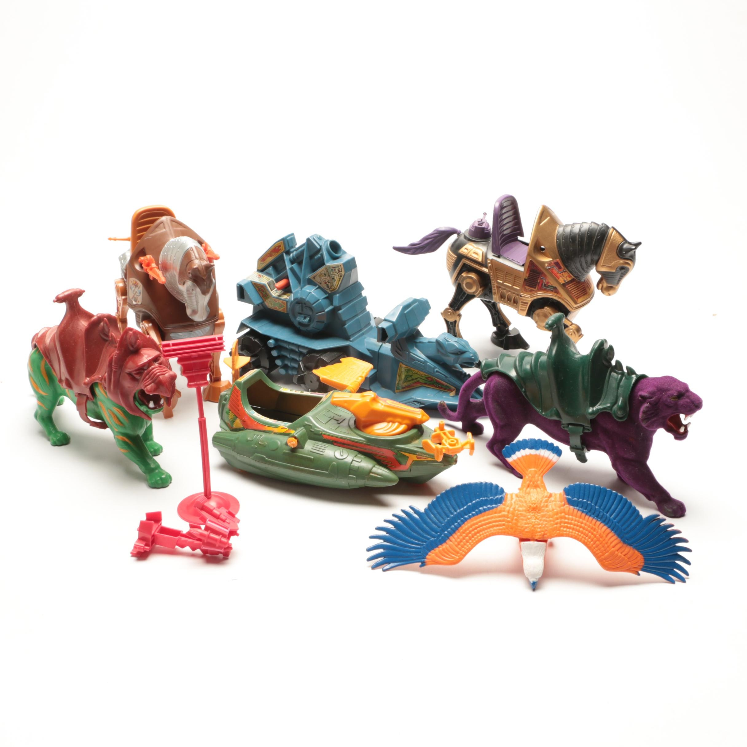 Collection of He Man Masters of the Universe Toys by Mattel