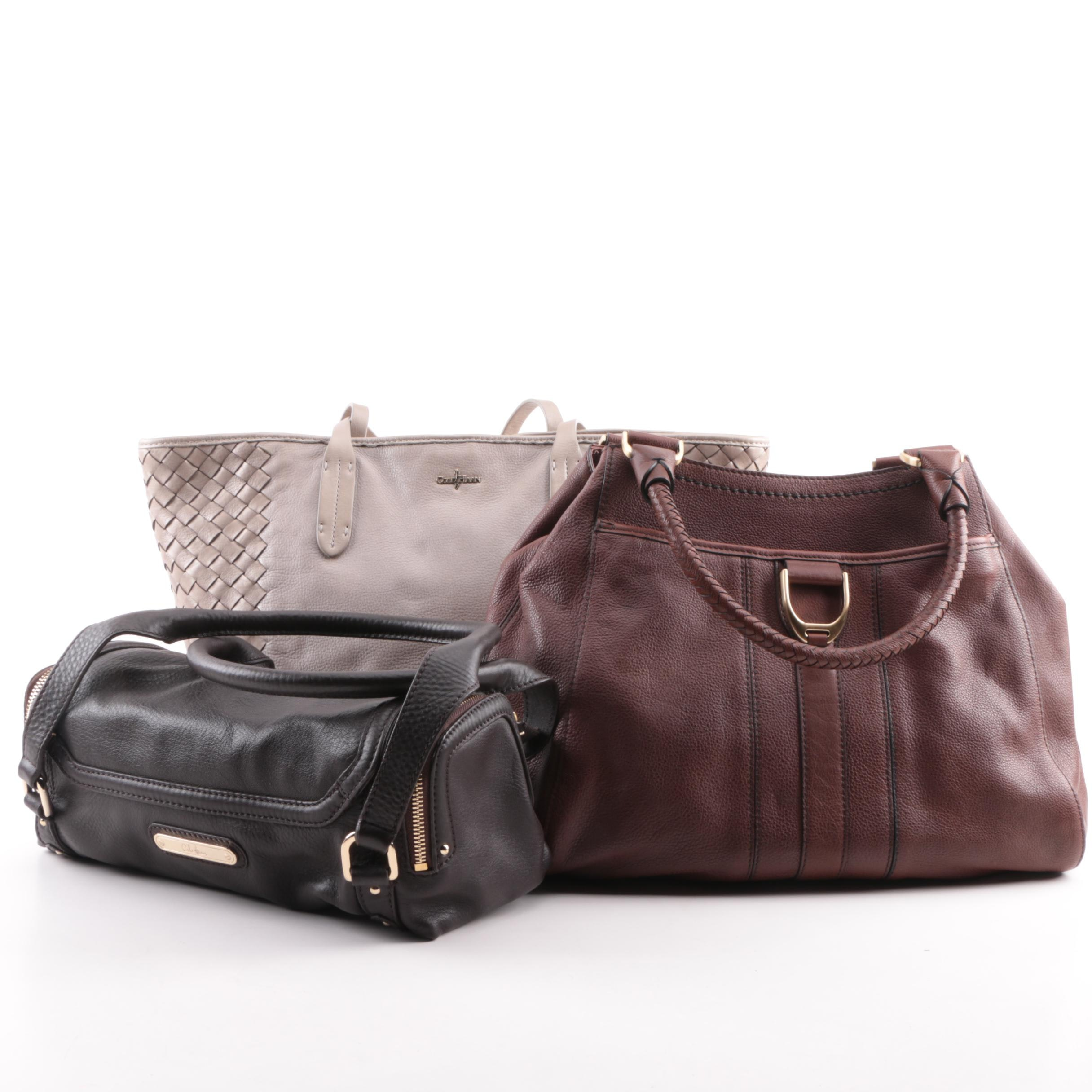 Cole Haan Leather Tote and Shoulder Bags