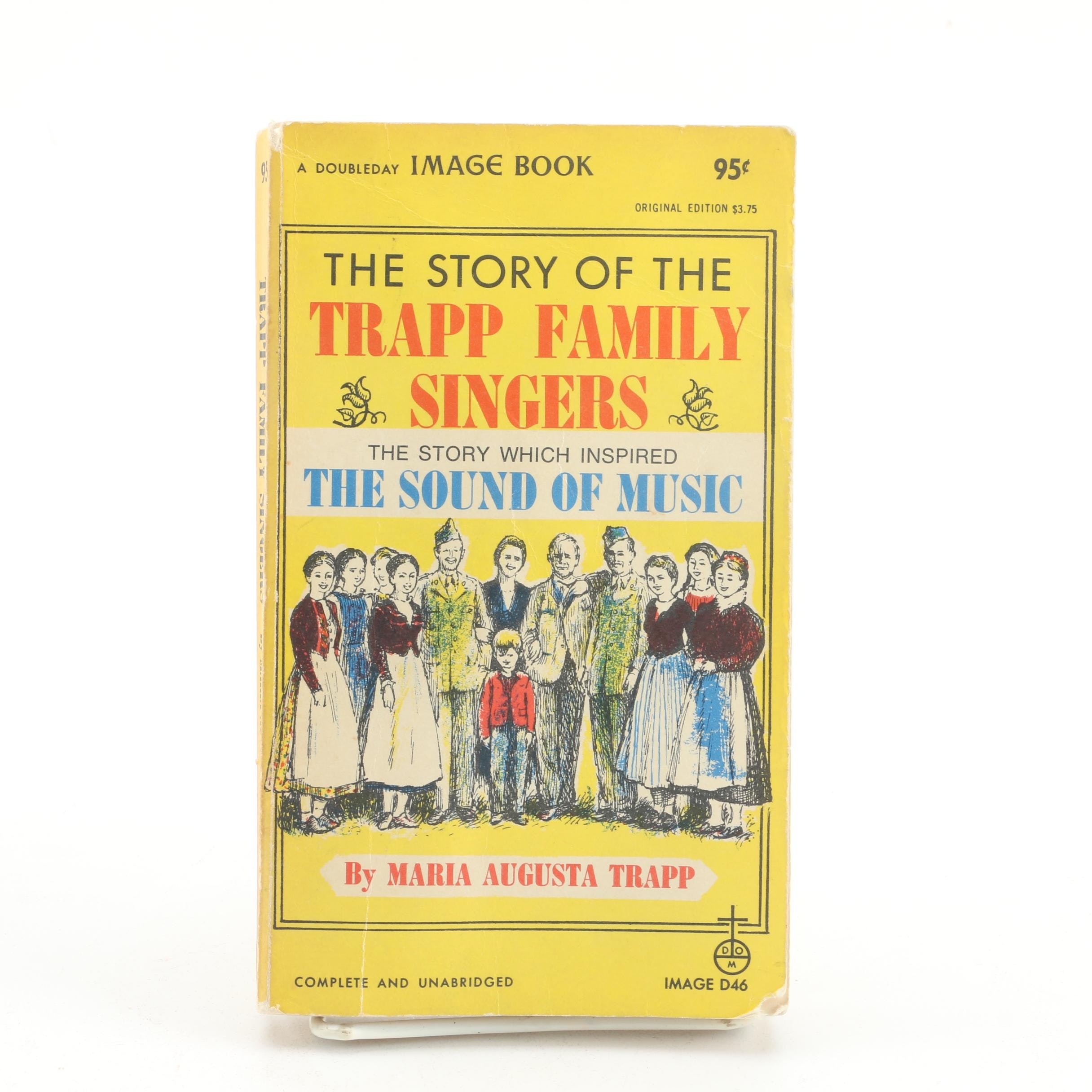 "1957 Signed ""The Story of the Trapp Family Singers"" by Maria von Trapp"