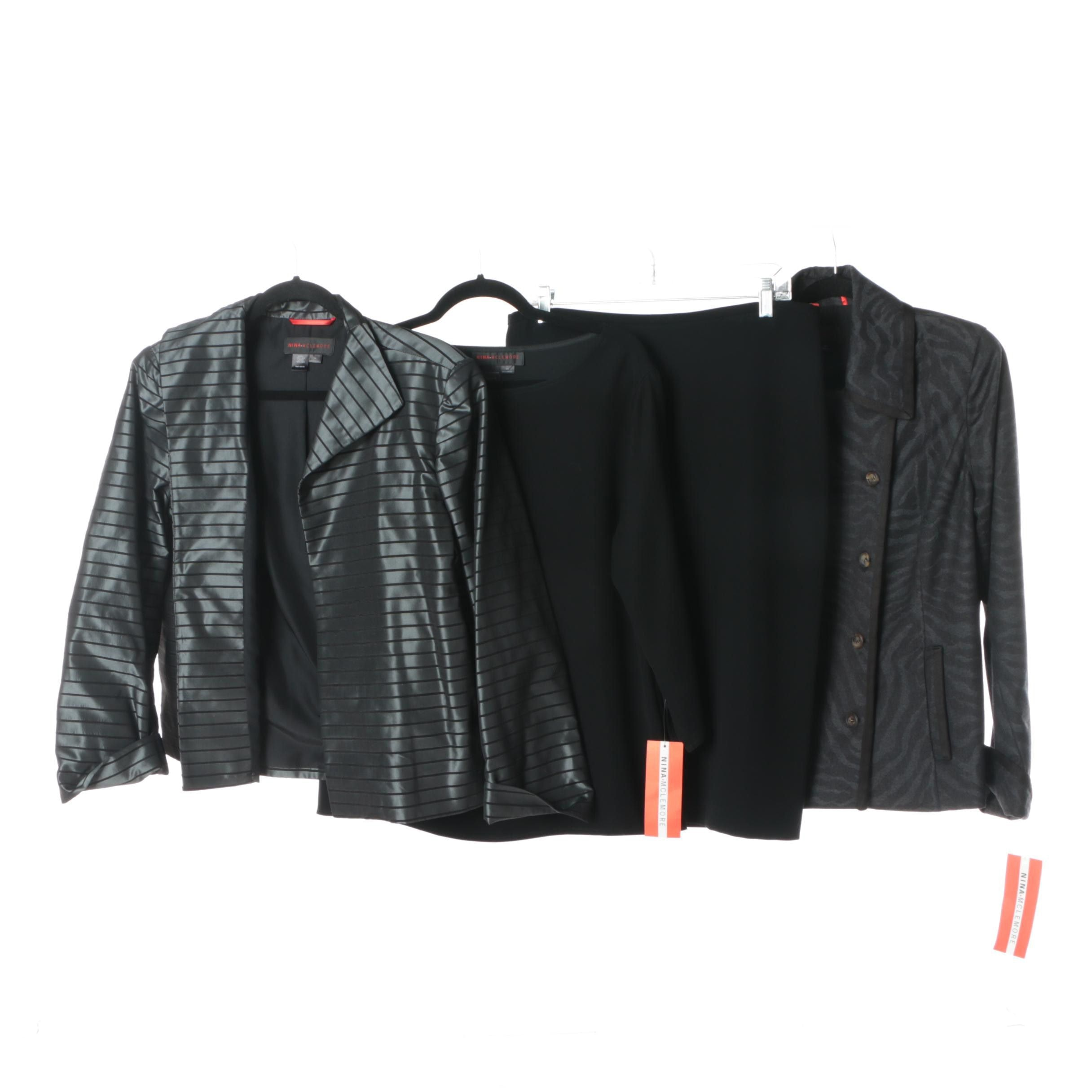 Nina McLemore Blazers, Top and Skirt