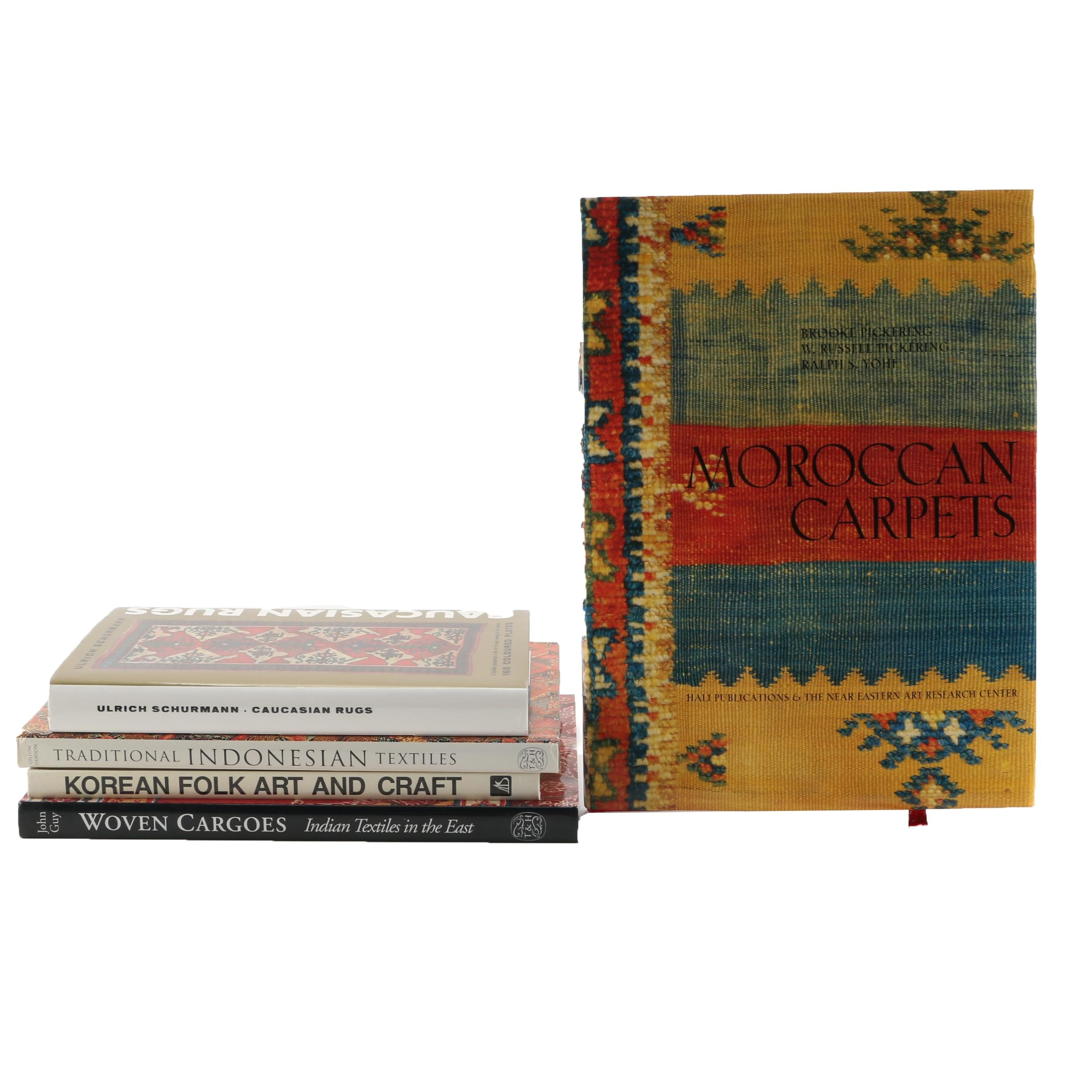 """Moroccan Carpets"" and Other Books on Oriental Rugs and Textiles"