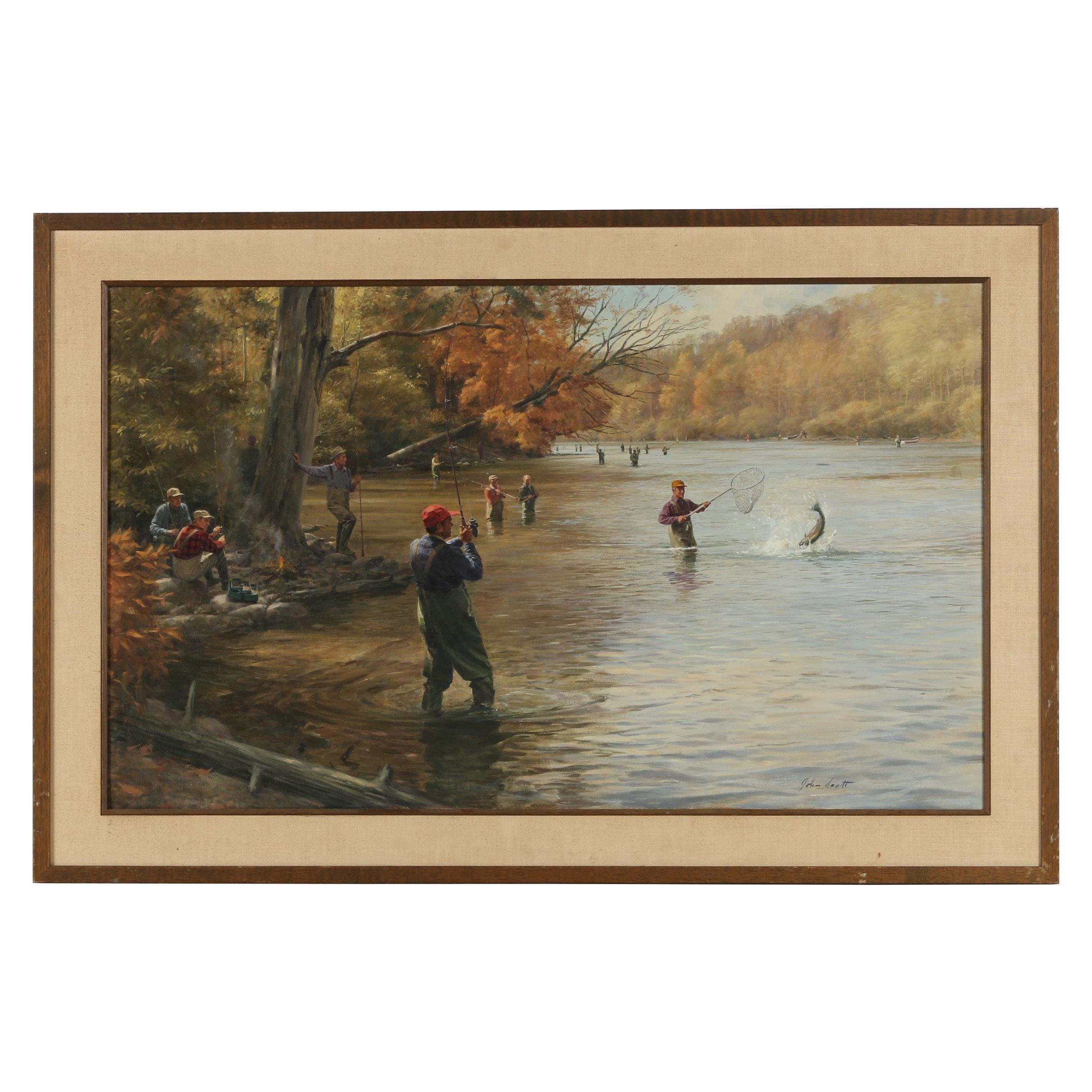 John Scott Oil Painting
