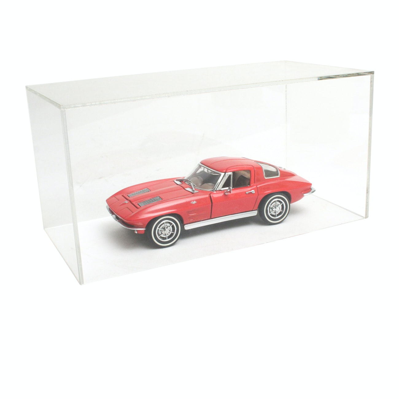 Franklin Mint Red 1963 Chevrolet Corvette Stingray