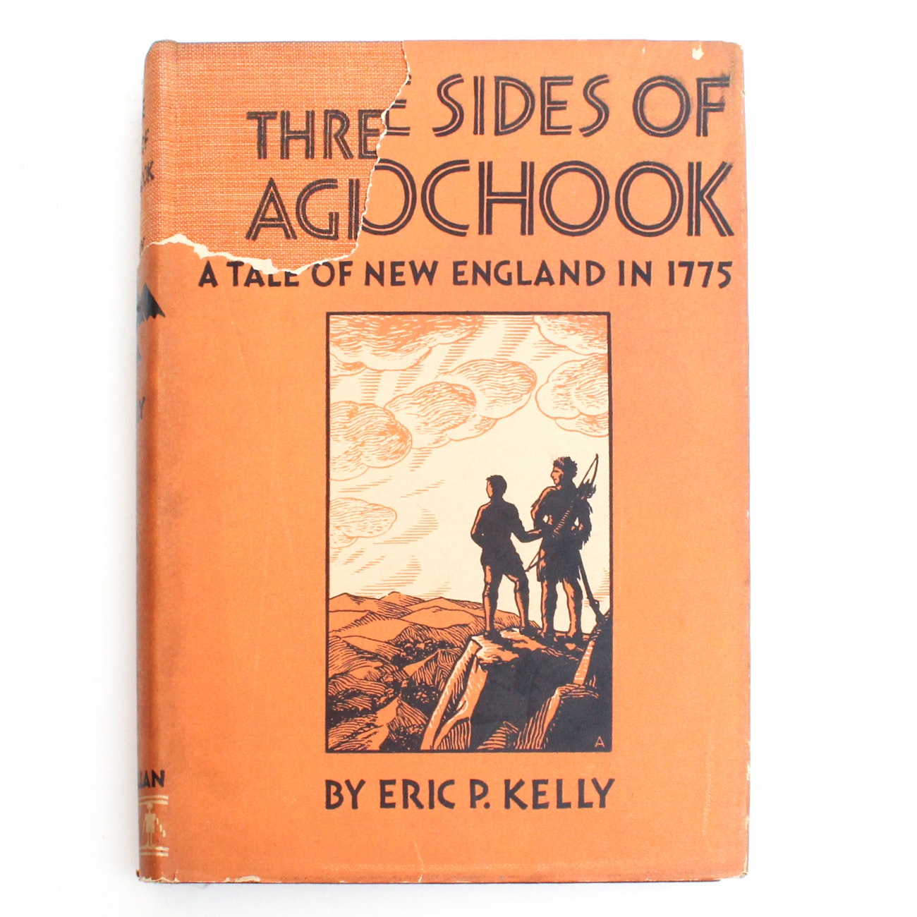 "1935 Signed First Edition ""Three Sides of Agiochook"" by Eric. P. Kelly"