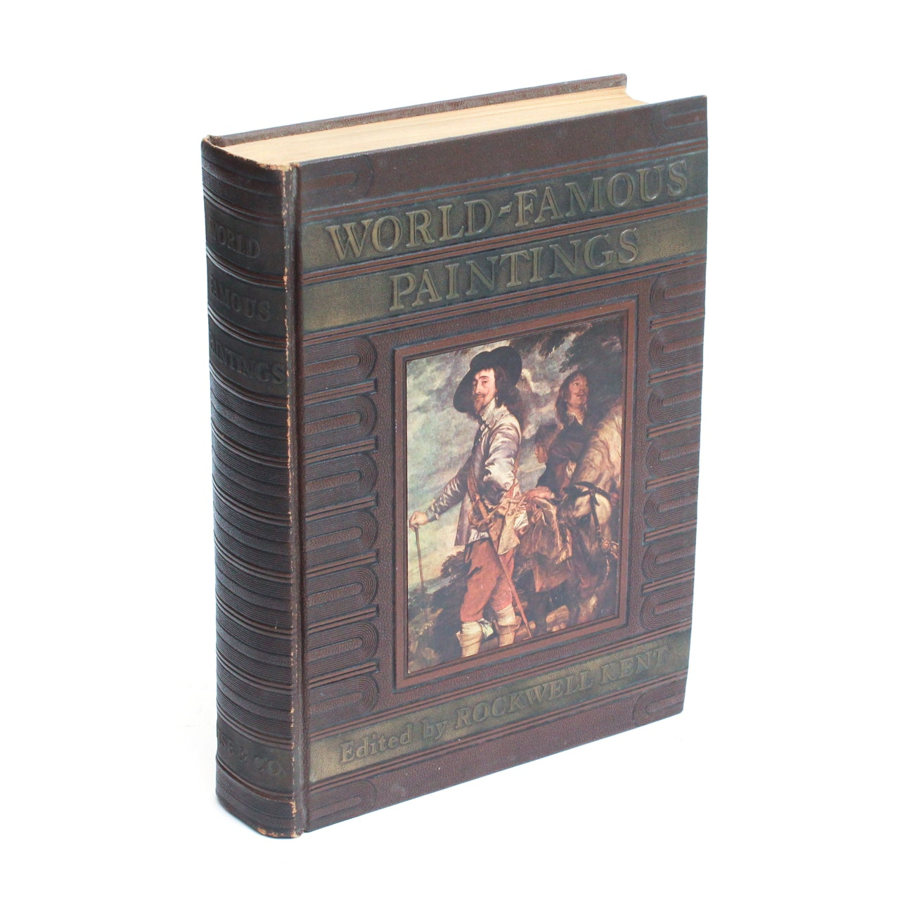 "1939 First Trade Edition of ""World Famous Paintings"""
