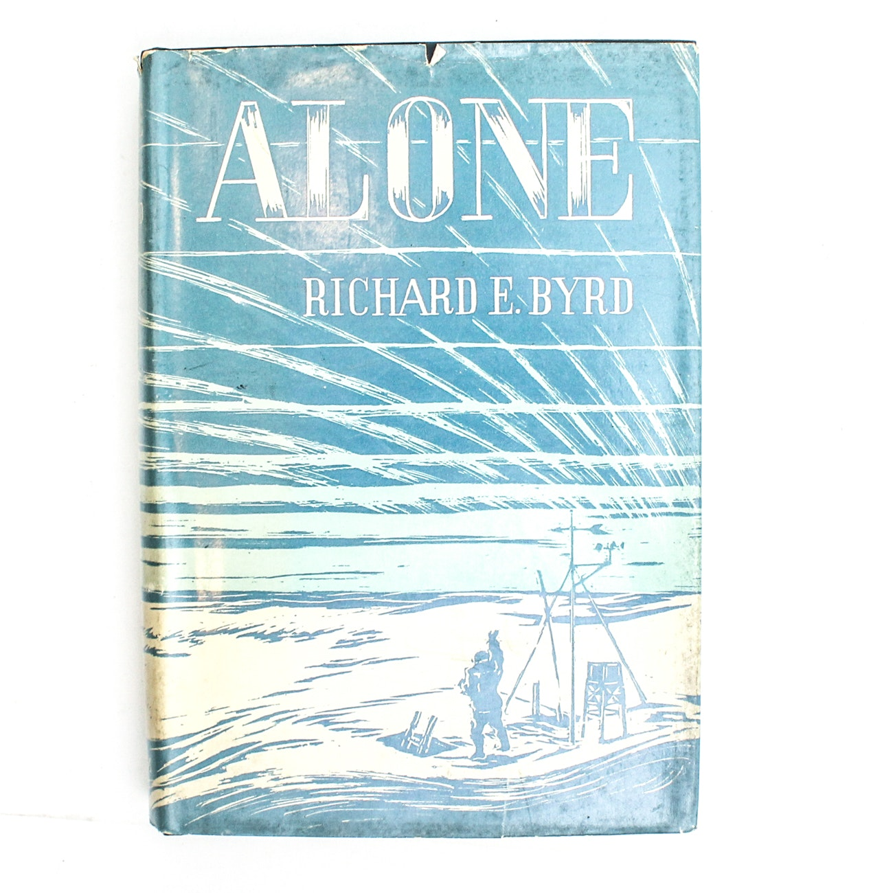 "Signed First Edition of ""Alone"" by Richard Byrd"