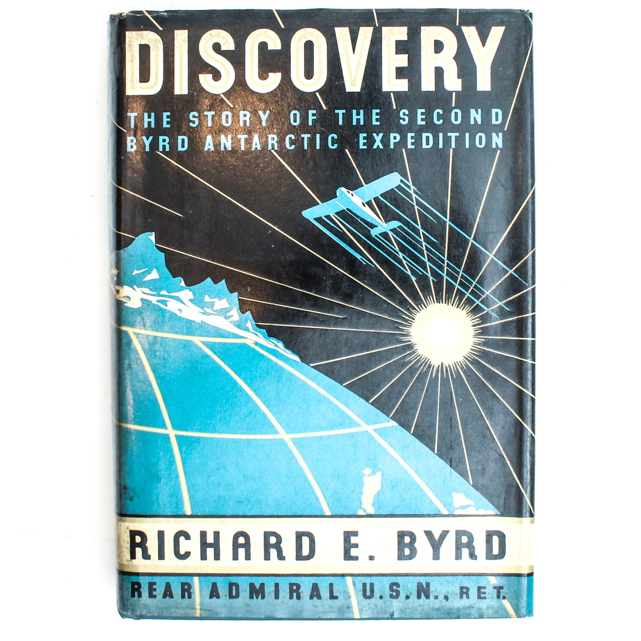 "Signed First Edition ""Discovery"" by Richard Byrd"