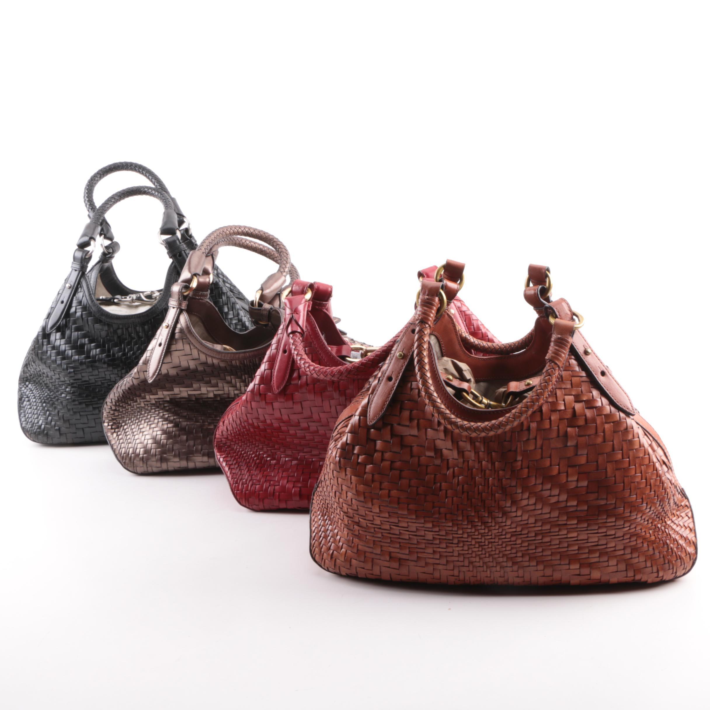 Cole Haan Woven Leather Handbags