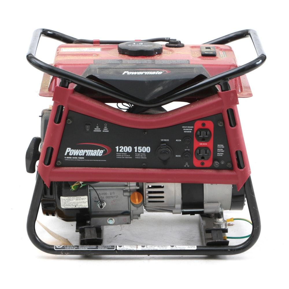 Powermate 1200-1500 Watt Generator