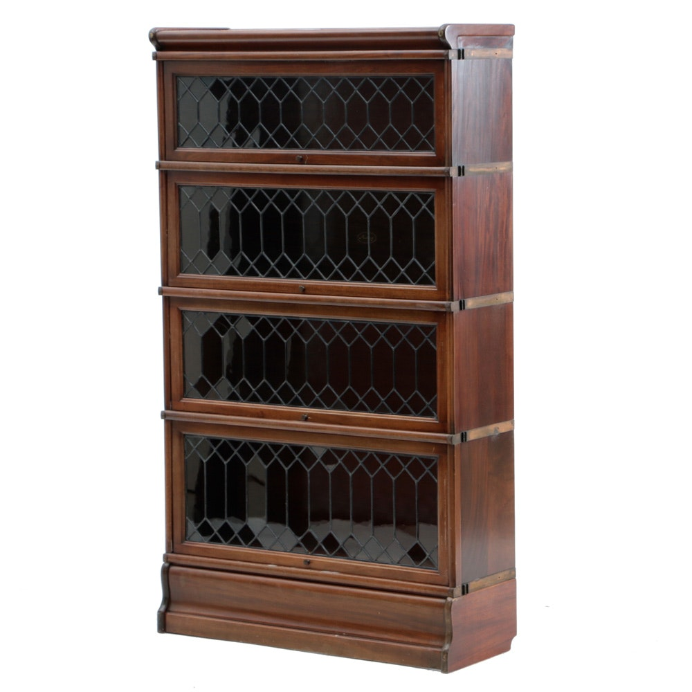 Mahogany Barrister Bookcase by Macey