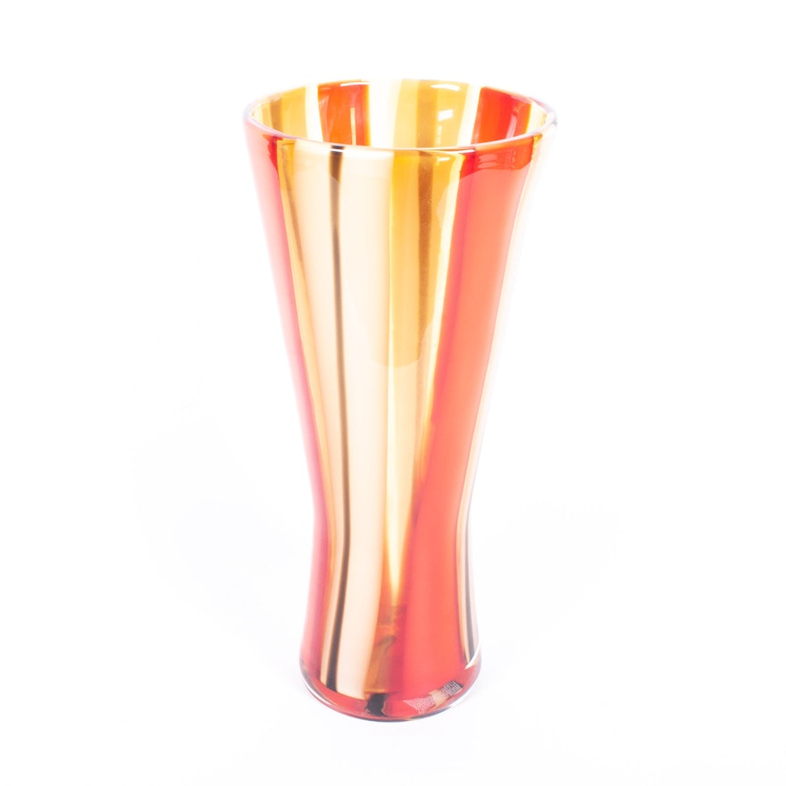 Evolution By Waterford Moroccan Breeze Vase Ebth